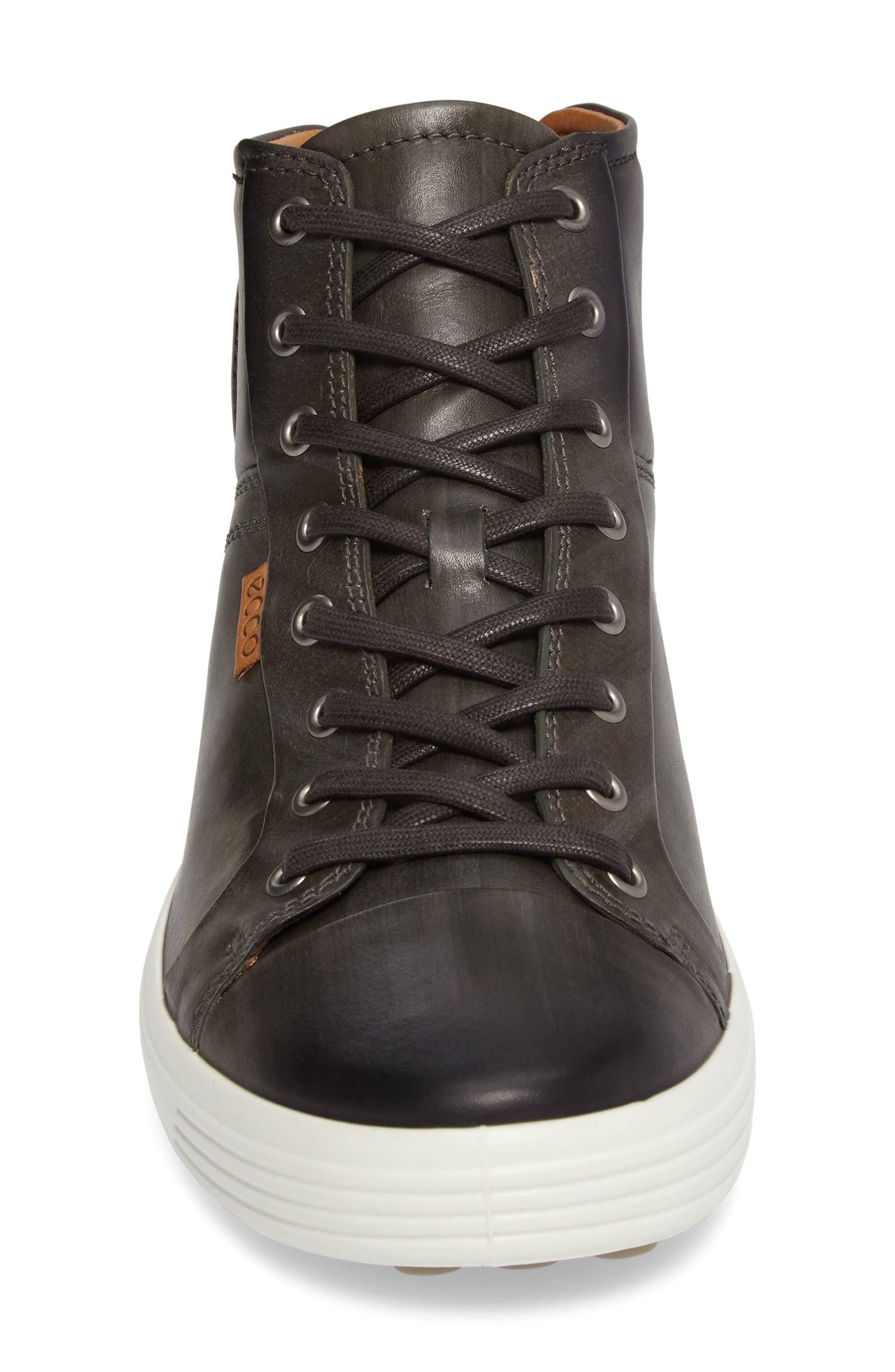 Alternate Image 4  - ECCO Soft 7 High Top Sneaker (Men)