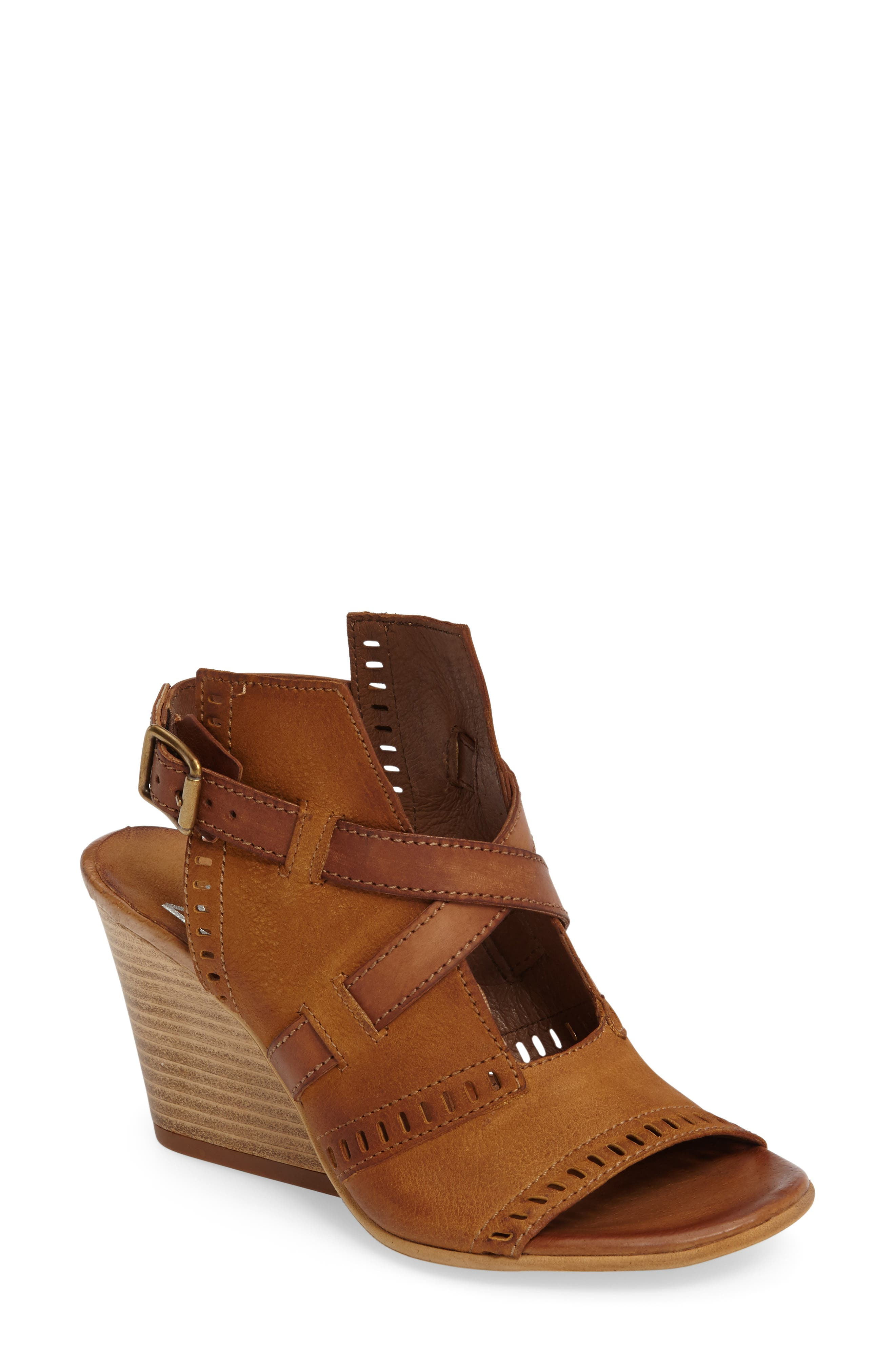 Alternate Image 1 Selected - Miz Mooz Kipling Perforated Sandal (Women)