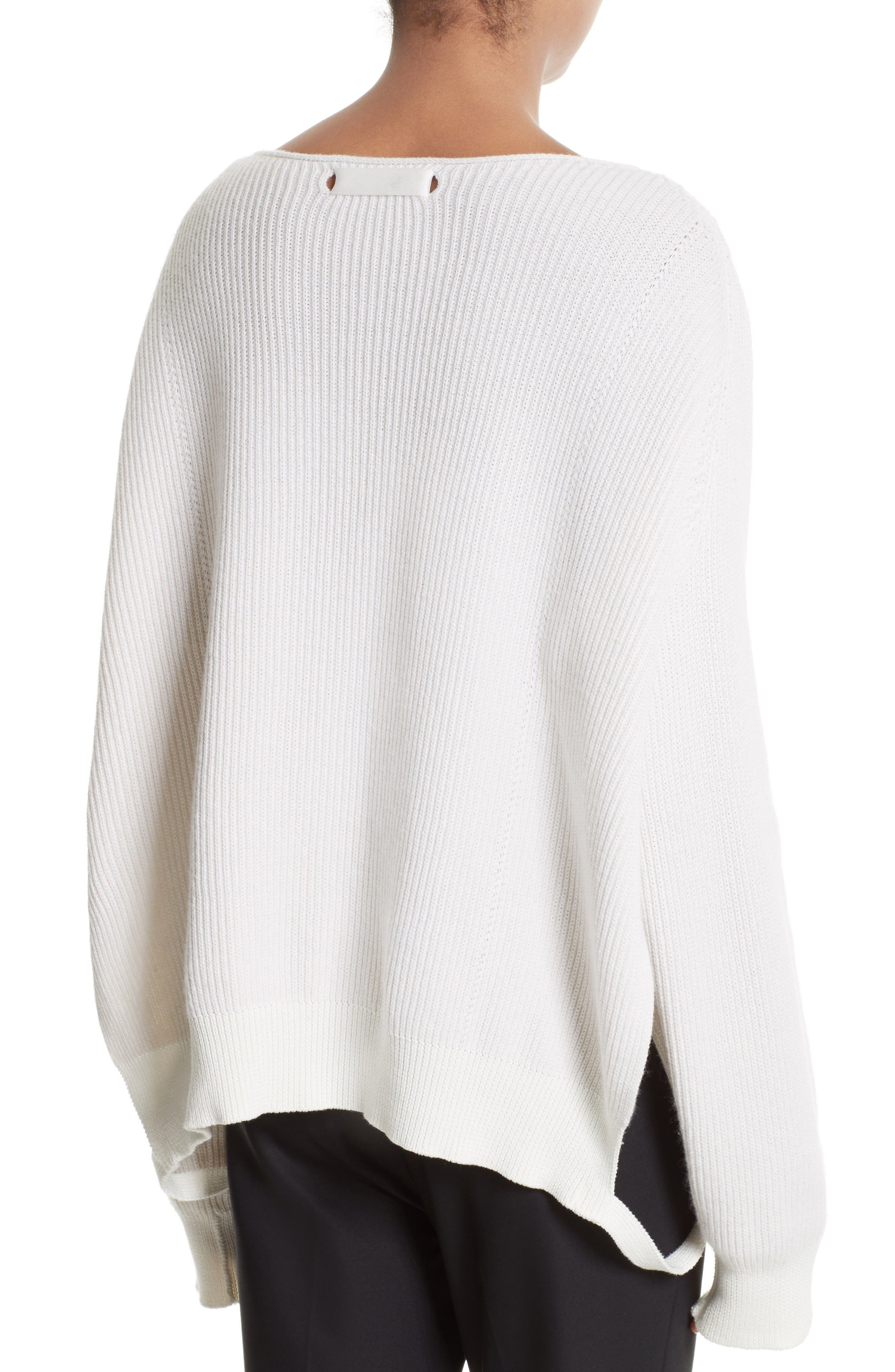 Side Strap Pullover,                             Alternate thumbnail 3, color,                             Ivory
