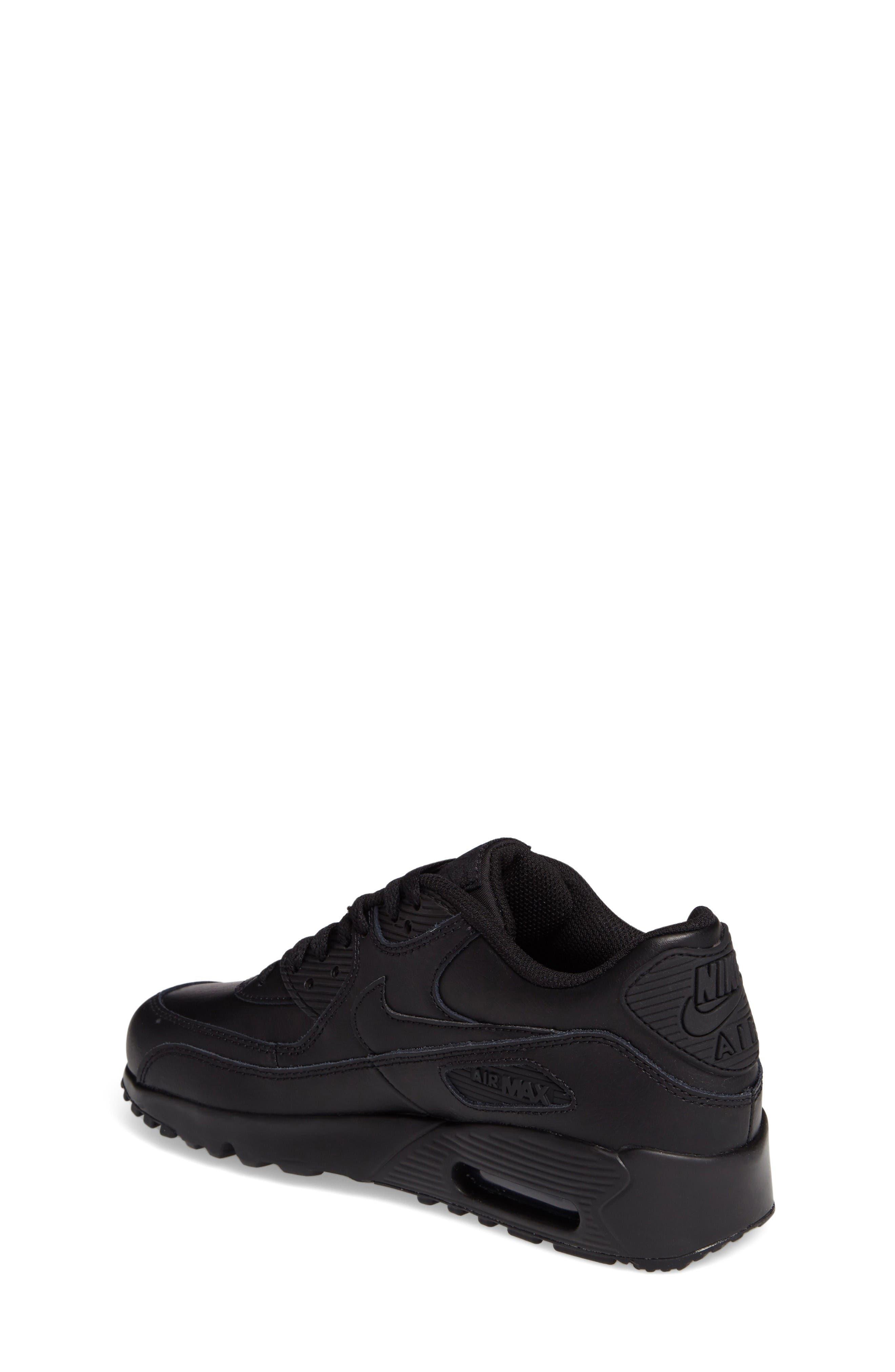 Alternate Image 2  - Nike Air Max 90 Sneaker (Big Kid)