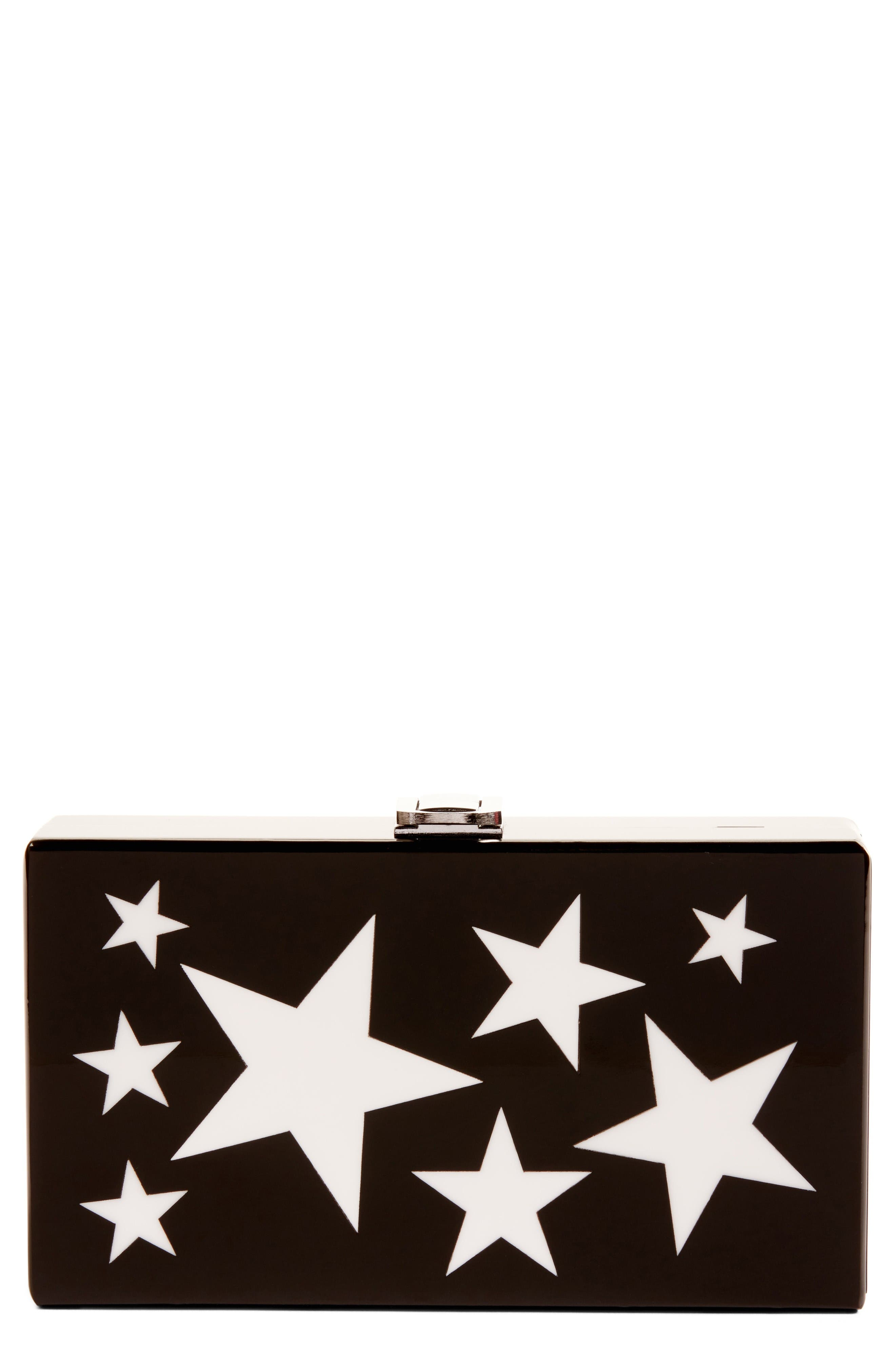 Alternate Image 1 Selected - Nordstrom Etoile Acrylic Box Clutch