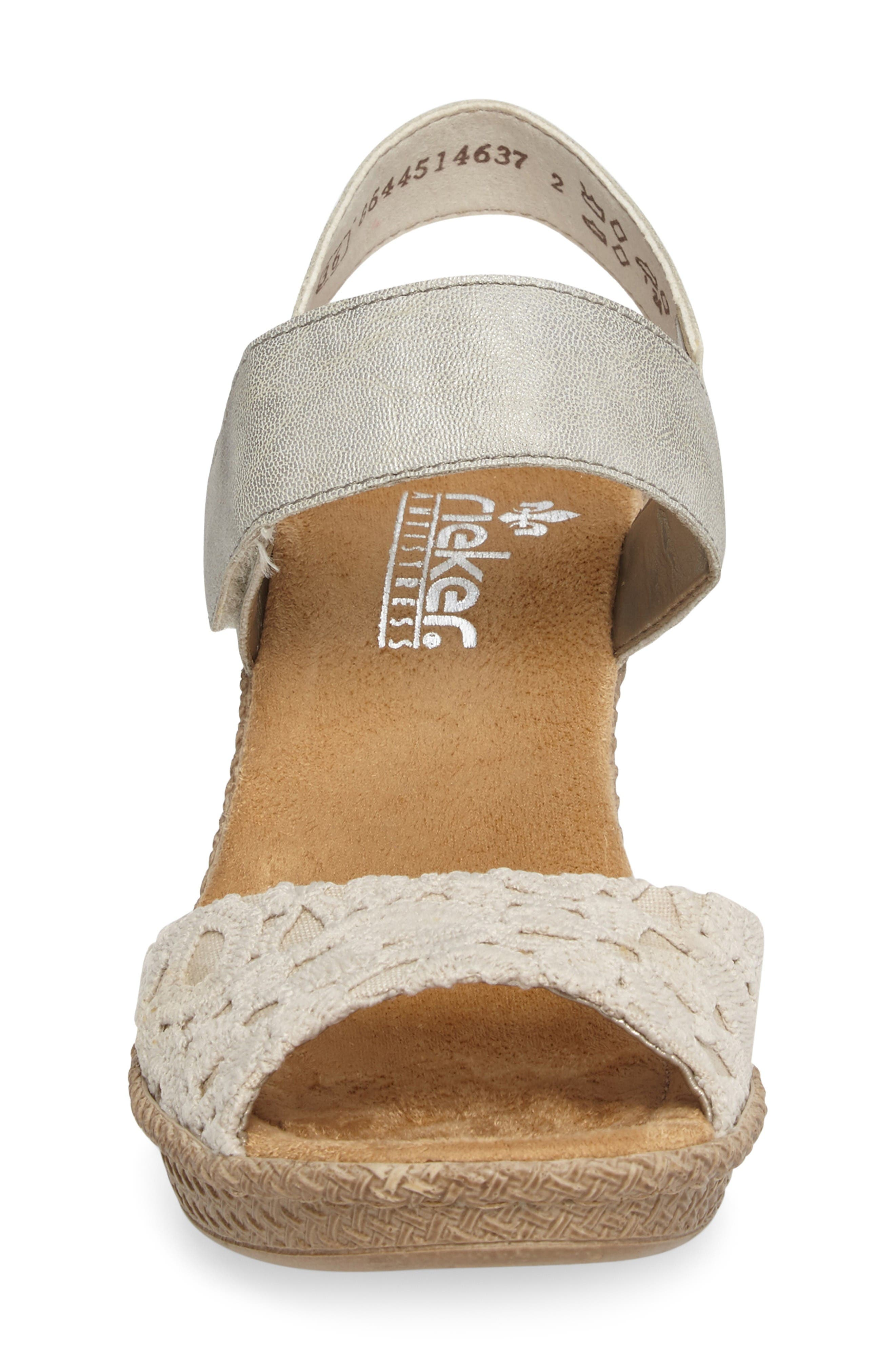 Alternate Image 4  - Rieker Antistress Rabea 61 Sandal (Women)