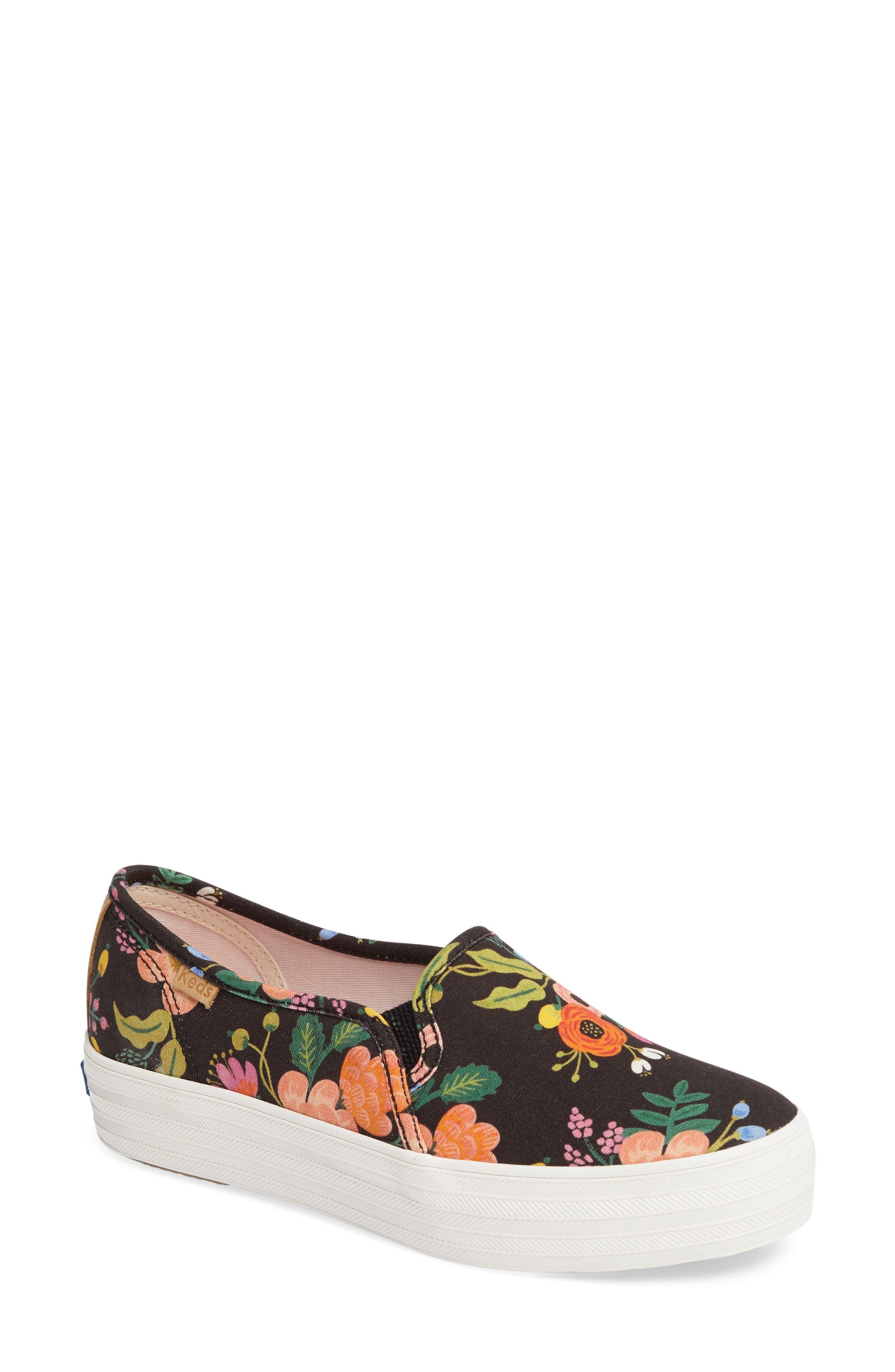 Alternate Image 1 Selected - Keds® Triple Decker Slip-On Platform Sneaker (Women)