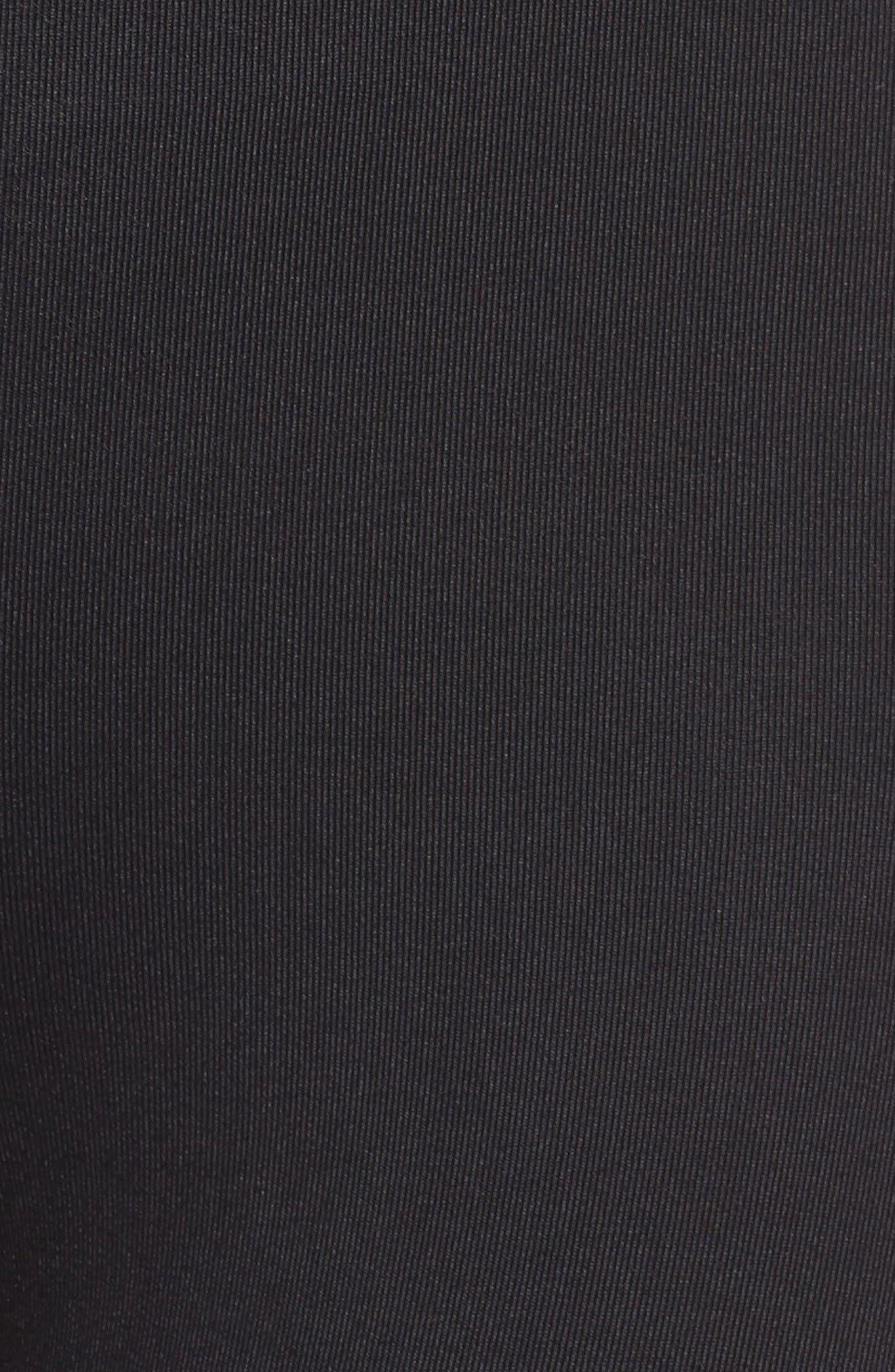 Curve Crop Leggings,                             Alternate thumbnail 5, color,                             Black Bisque