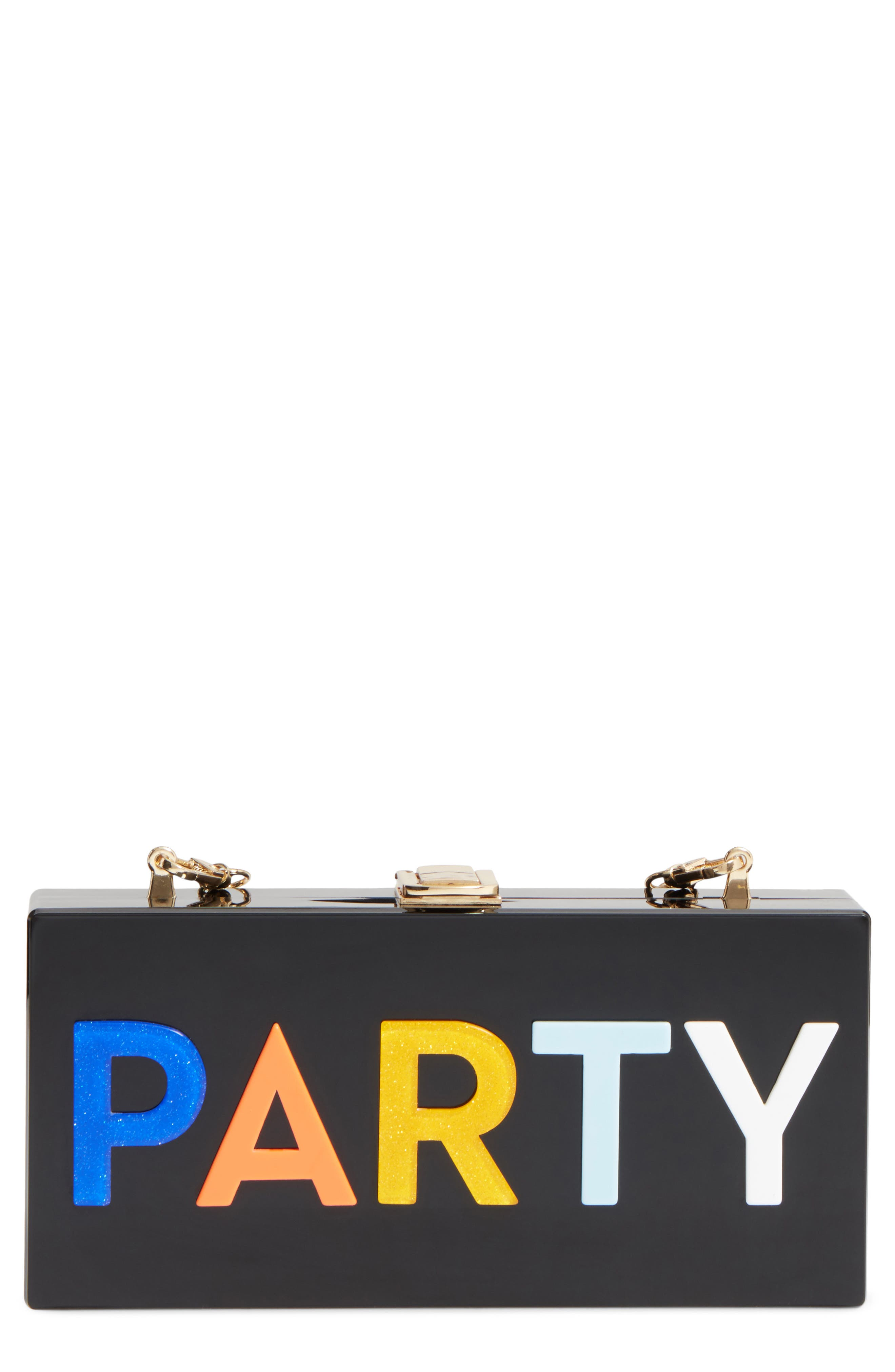 Main Image - Milly Party Box Clutch