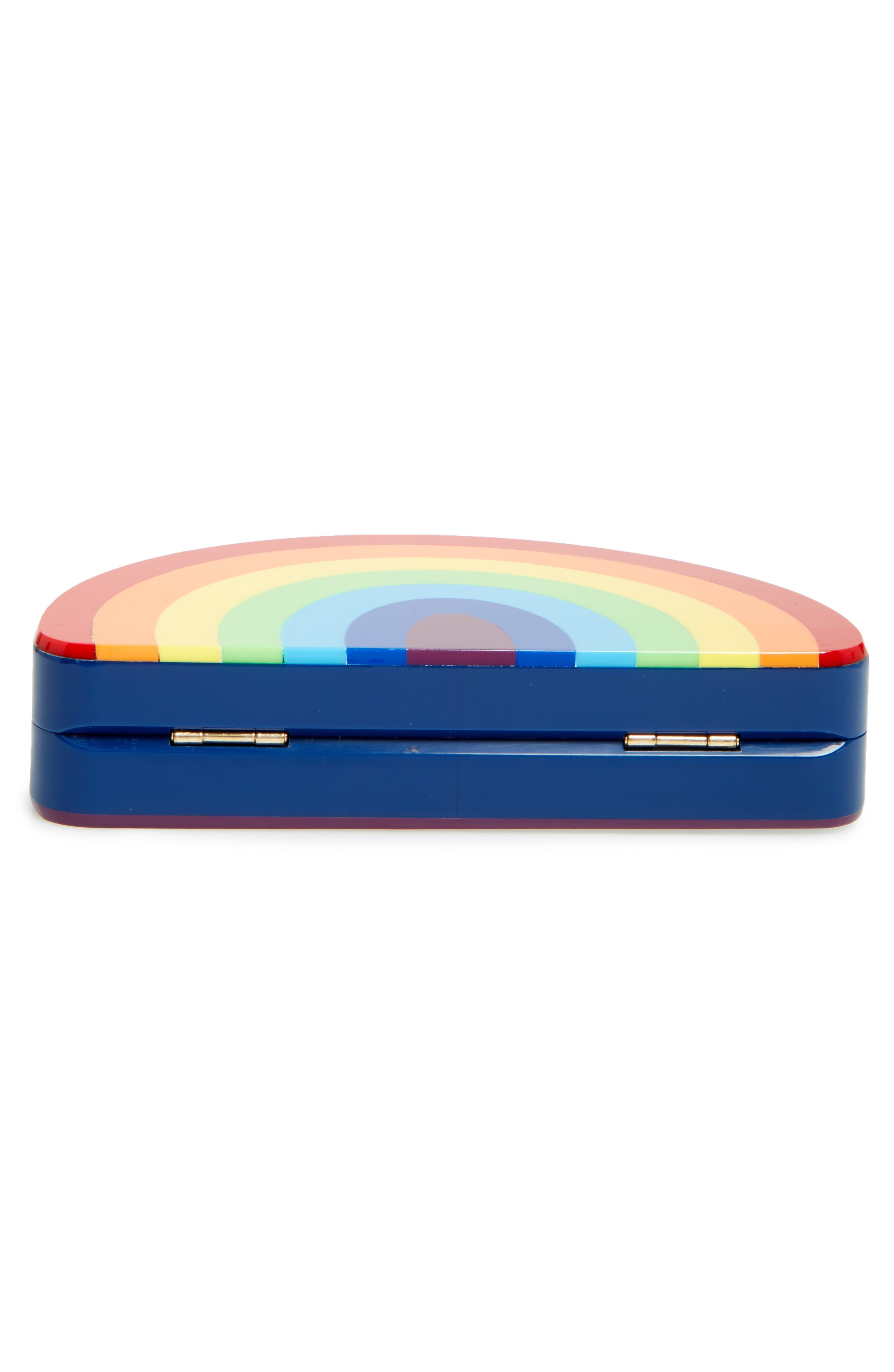 Alternate Image 6  - Milly Rainbow Half Moon Clutch