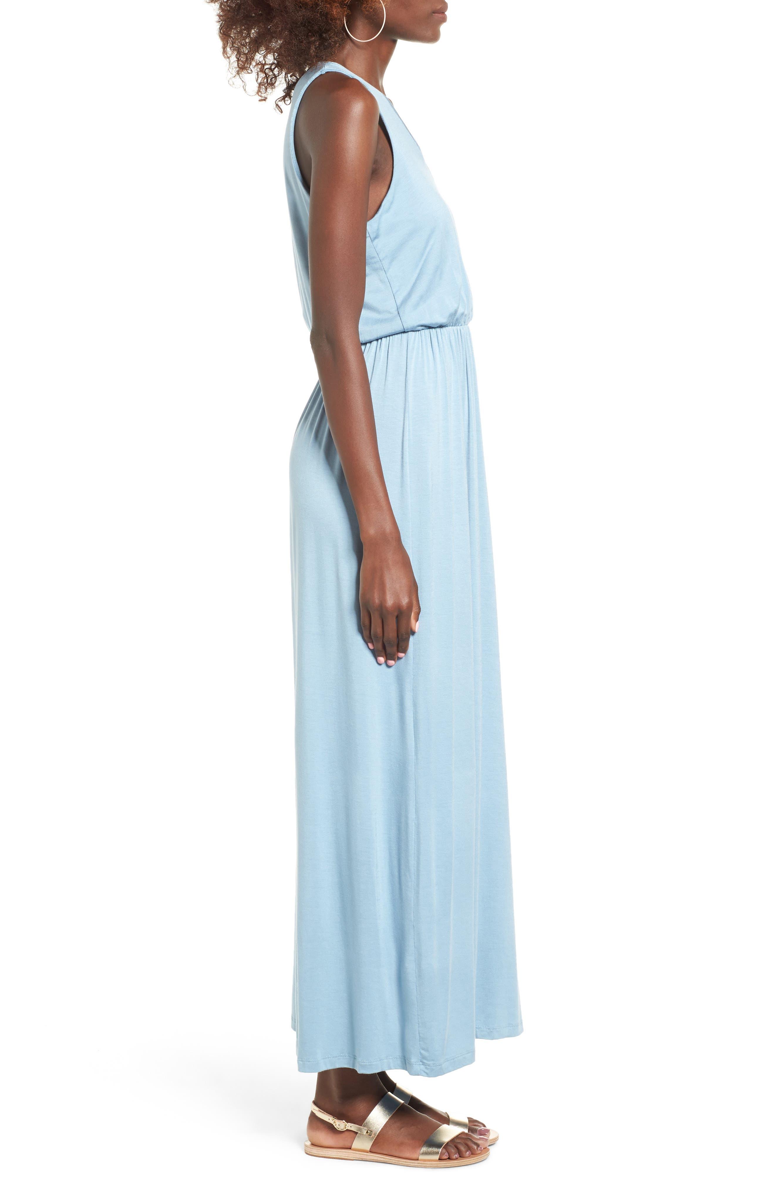 Alternate Image 3  - Lush Cross Front Maxi Dress