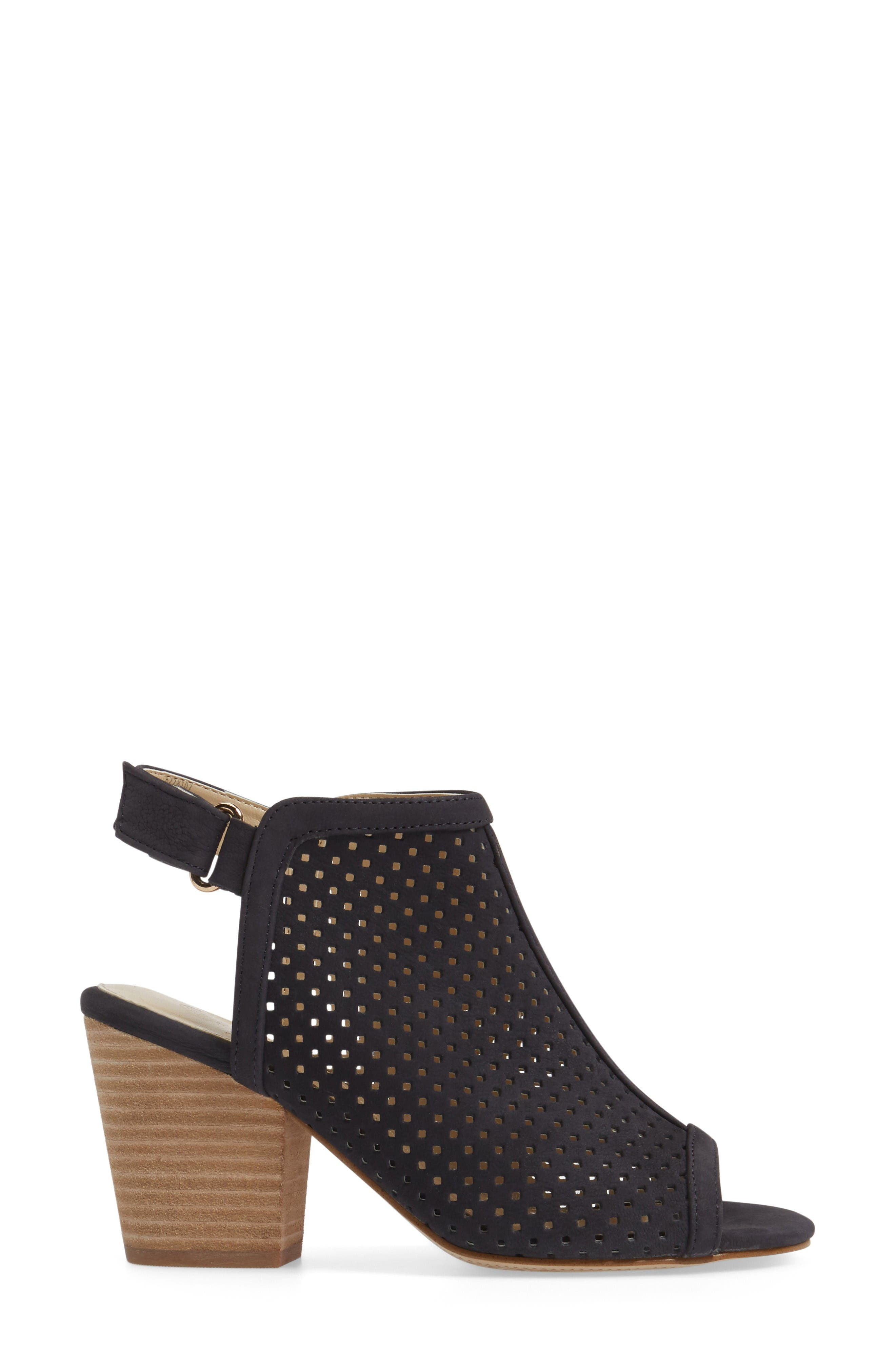 Alternate Image 3  - Isolá 'Lora' Perforated Open-Toe Bootie Sandal (Women)