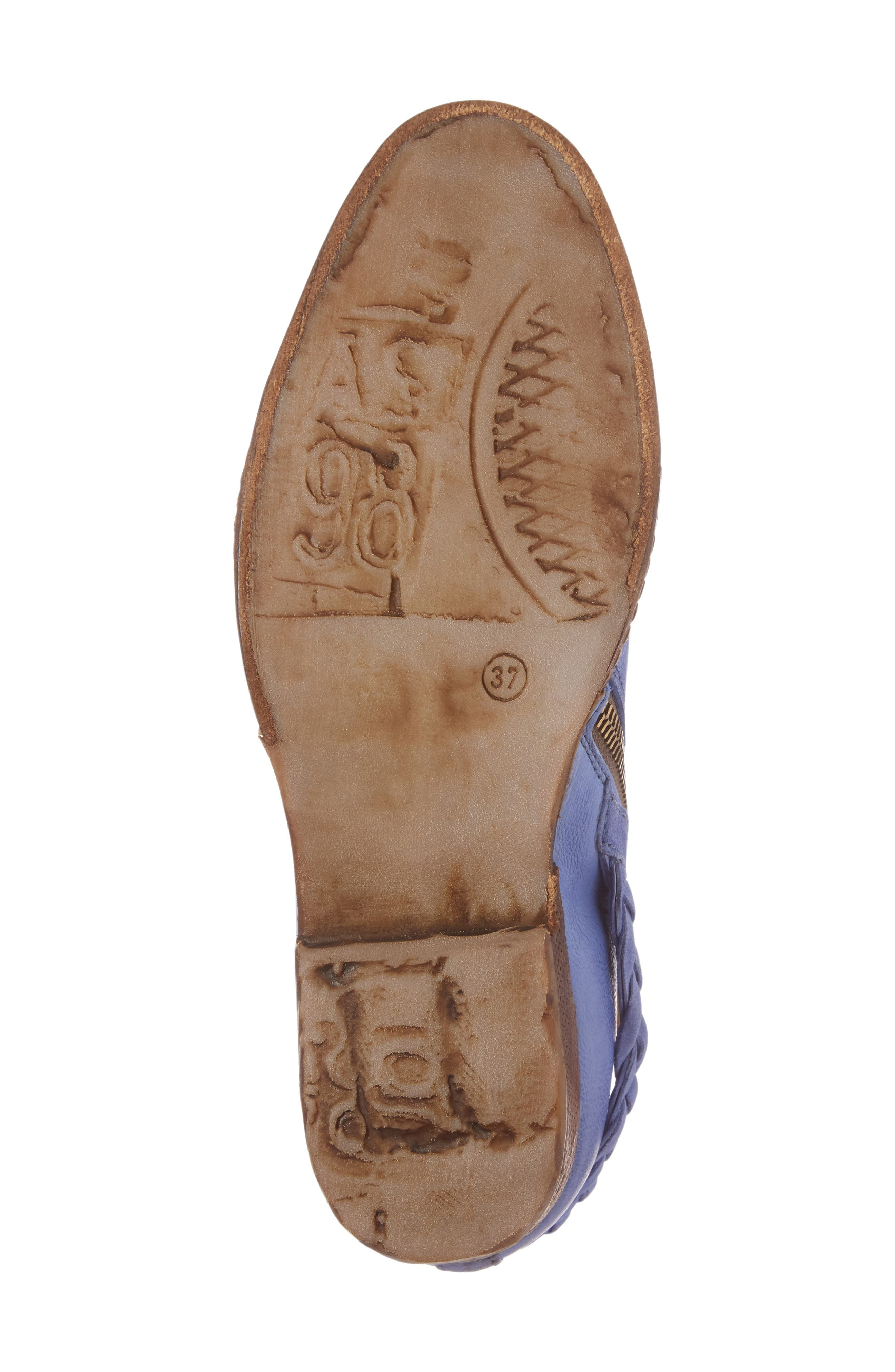 A.S. 98 Barney Bootie,                             Alternate thumbnail 6, color,                             Blue Leather