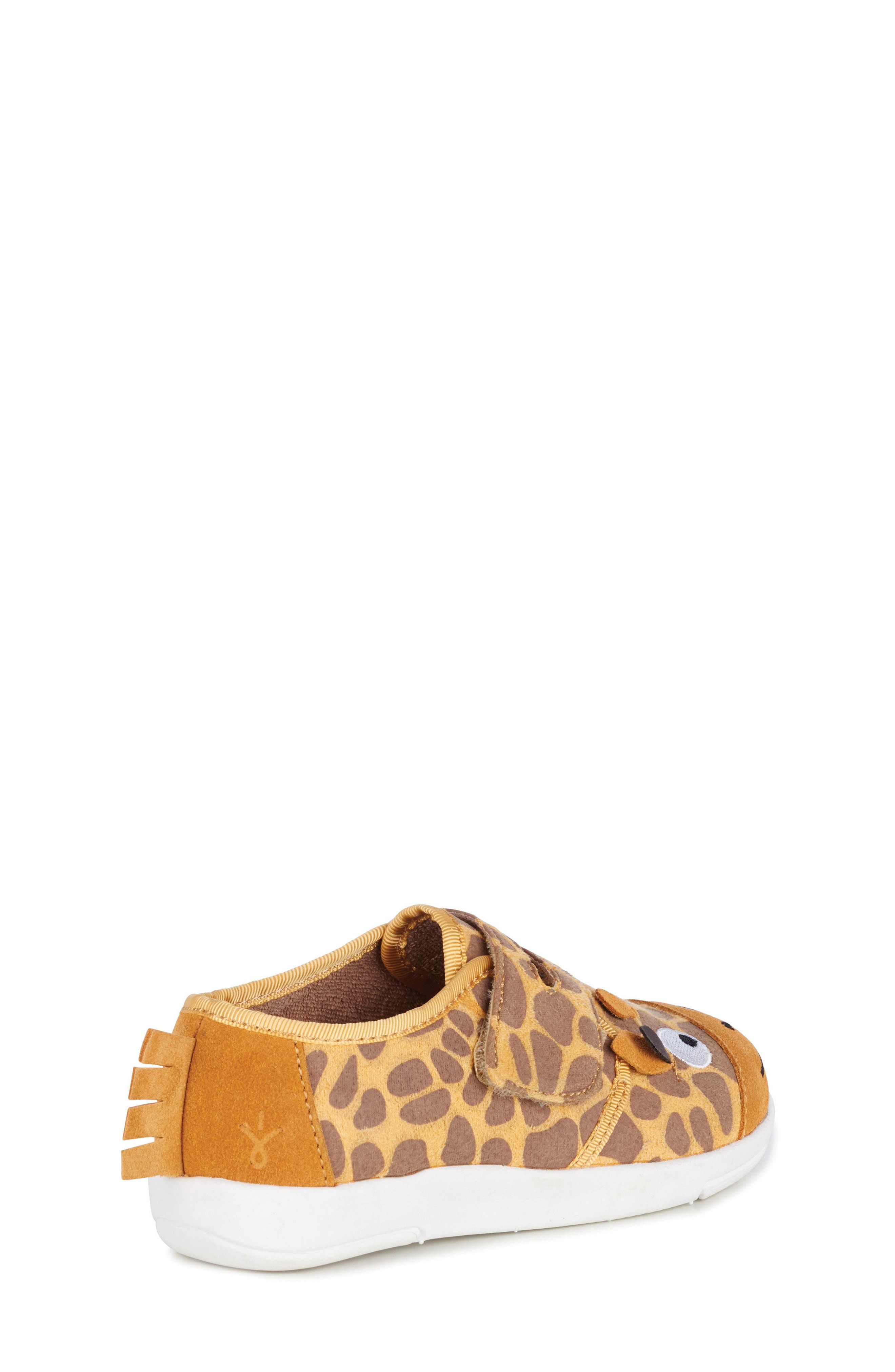 Giraffe Sneaker,                             Alternate thumbnail 6, color,                             Yellow