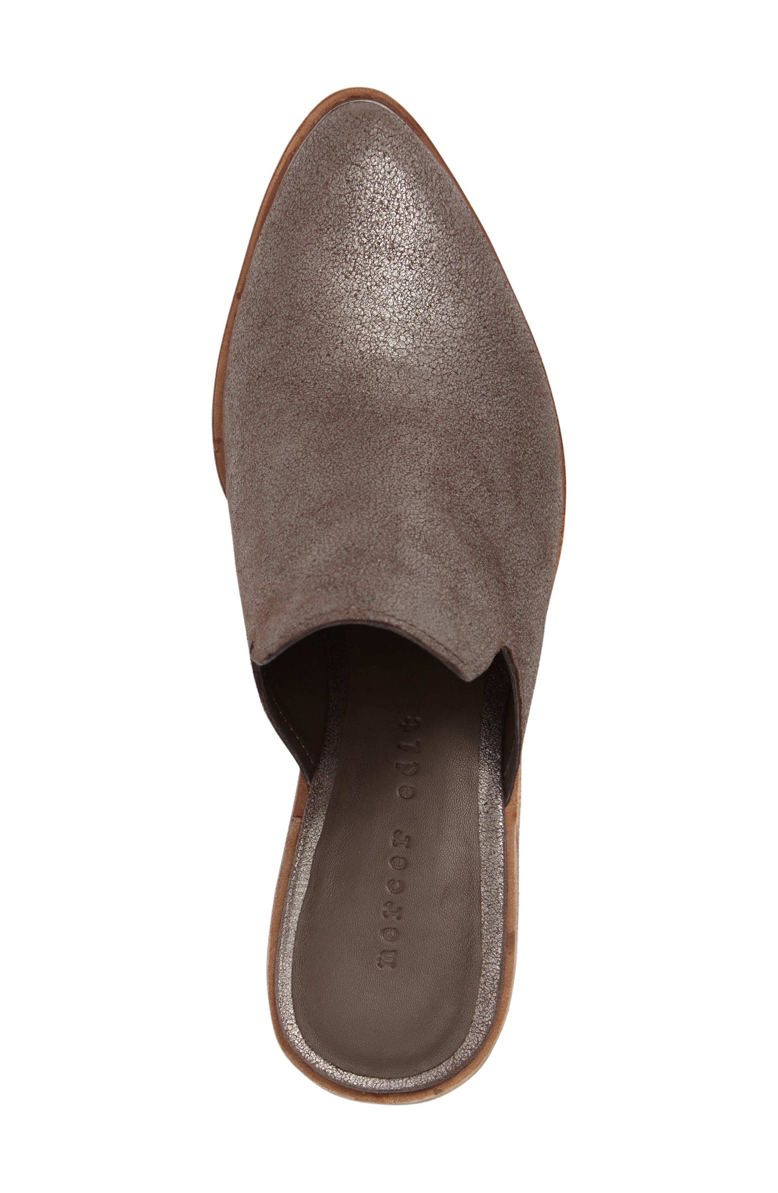 Layitonme Mule,                             Alternate thumbnail 5, color,                             Bronze Leather