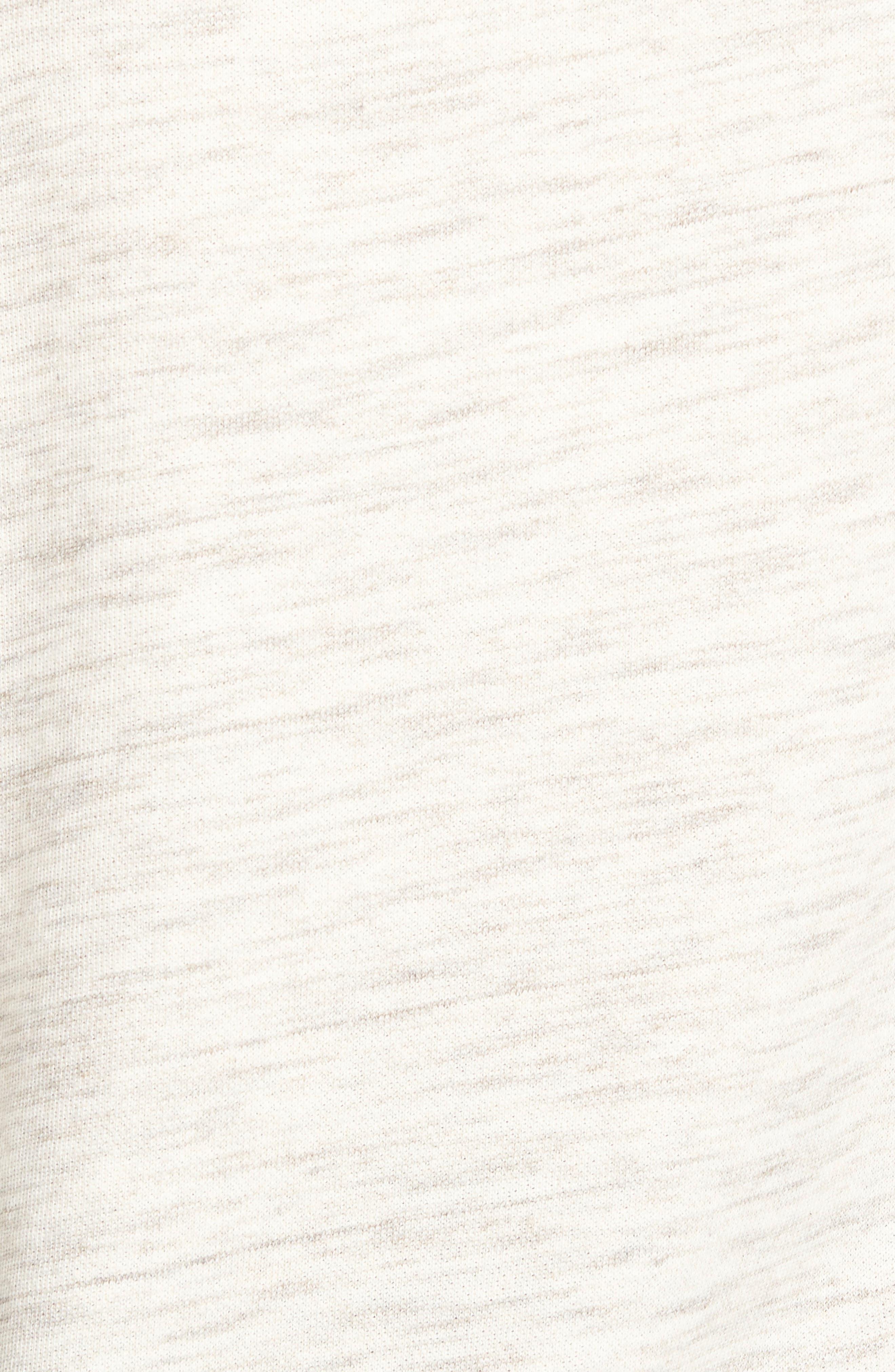 Alternate Image 5  - Caslon® Space Dye Tunic Sweatshirt (Regular & Petite)
