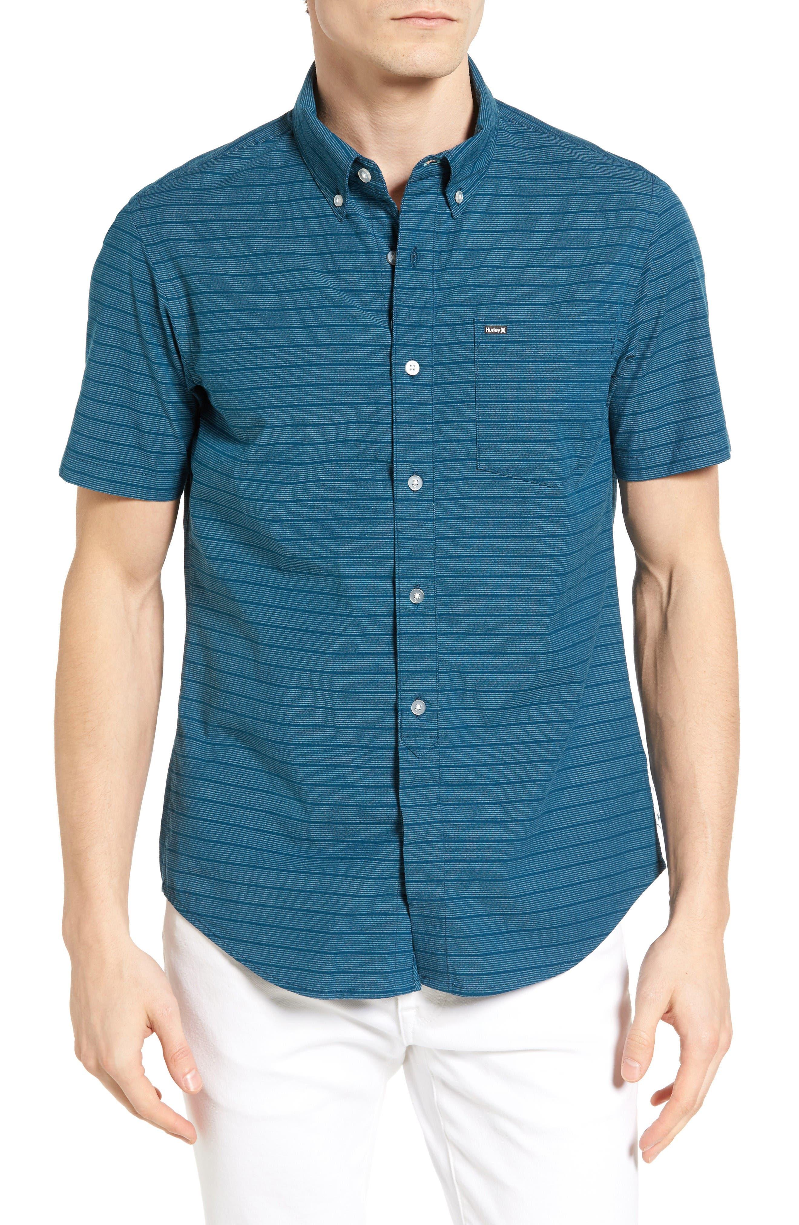 HURLEY Riser Striped Woven Shirt