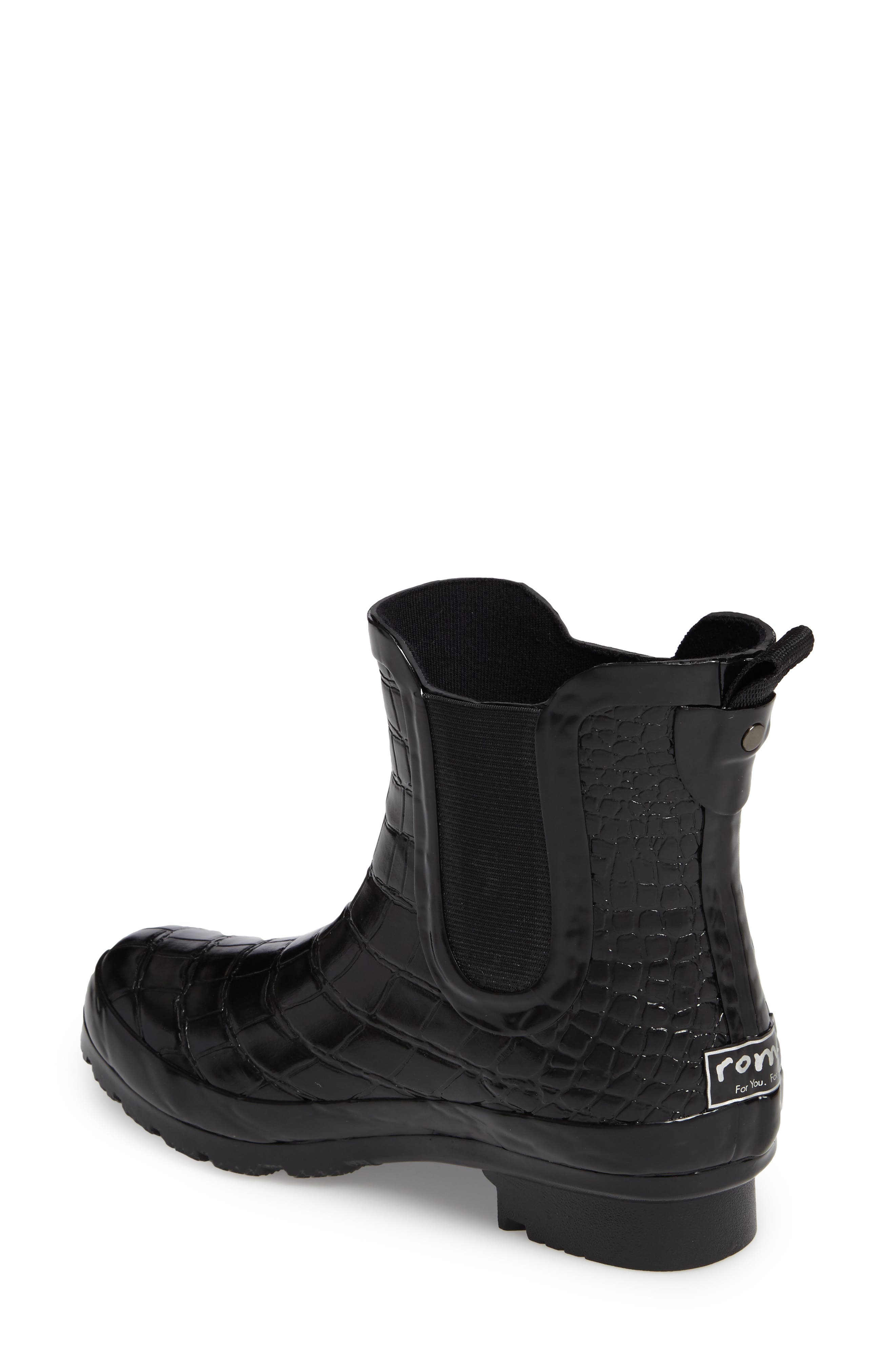 Alternate Image 2  - roma Waterproof Chelsea Boot (Women)