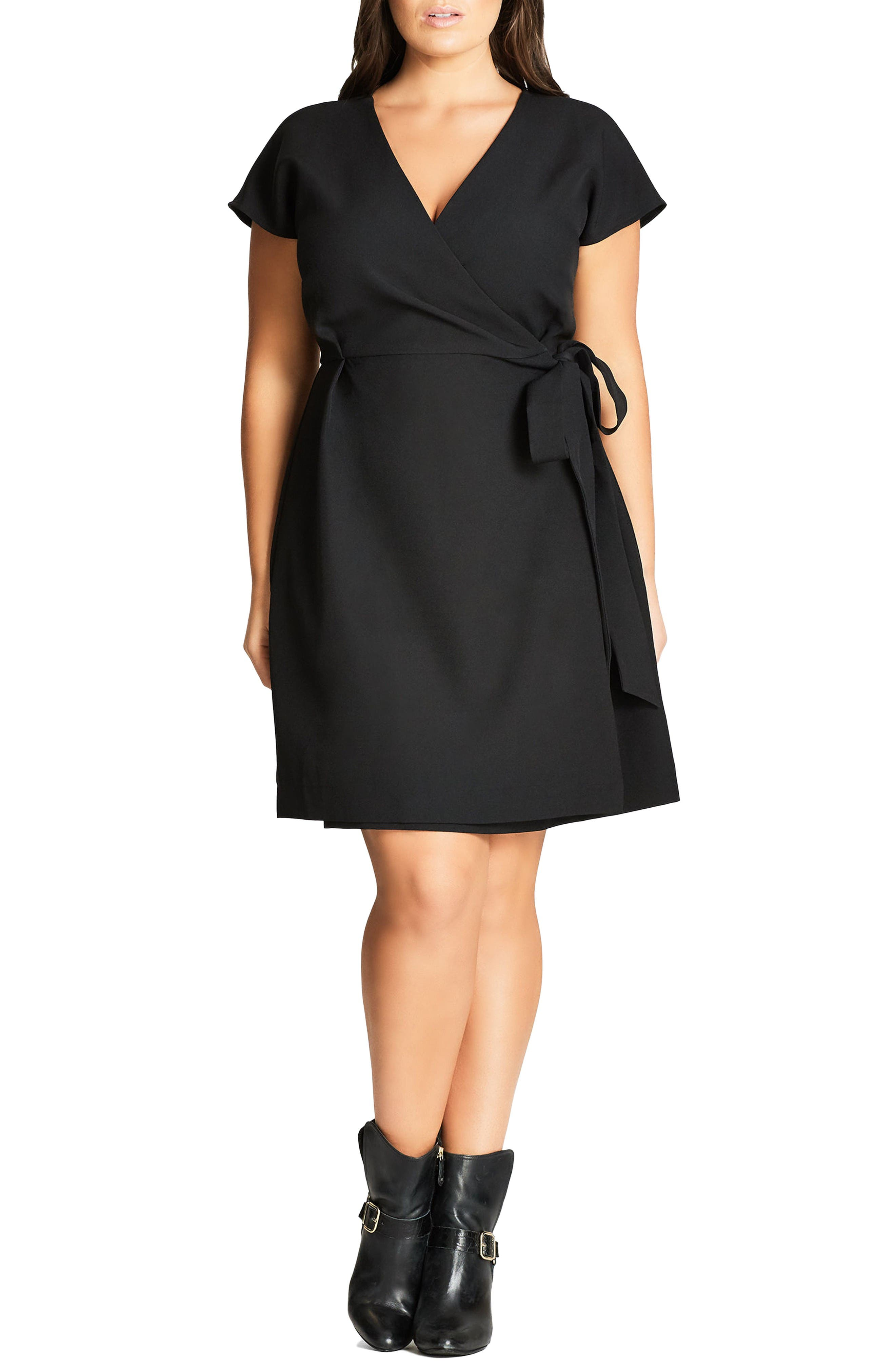 Women's Plus-Size Little Black Dresses | Nordstrom