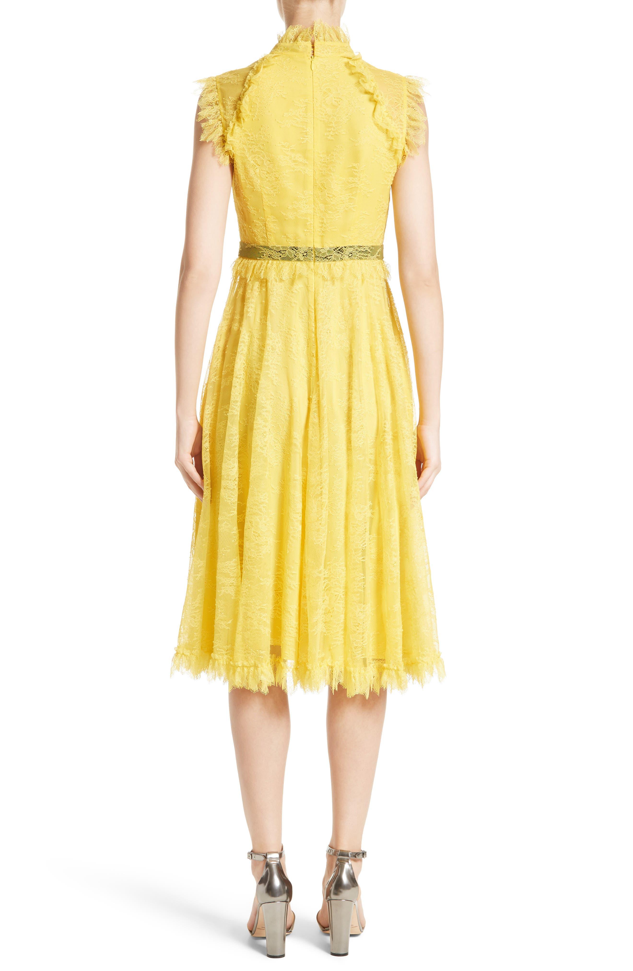 Alternate Image 2  - Erdem Tulle Lace Dress