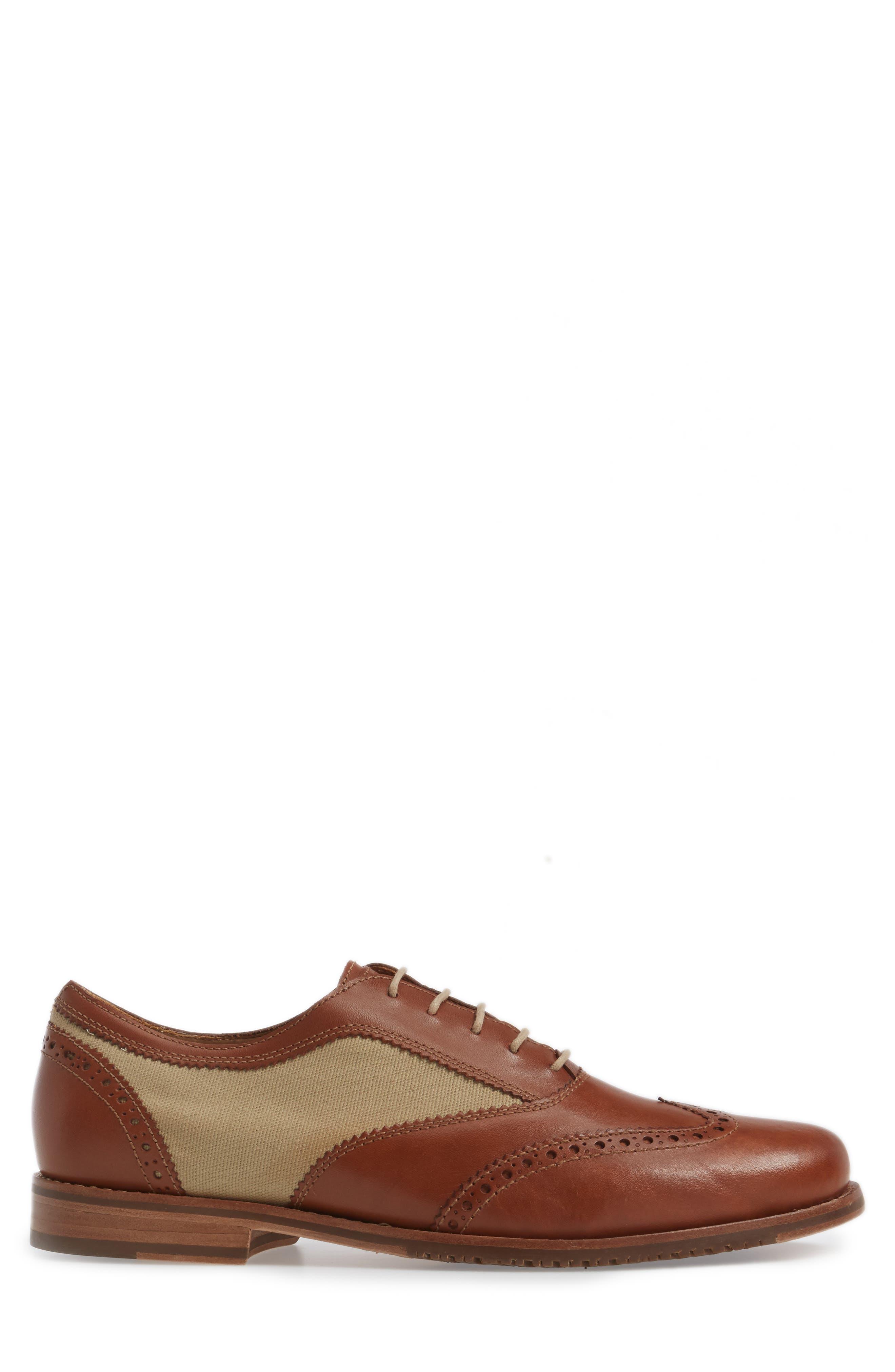 Felman Wingtip,                             Alternate thumbnail 3, color,                             Whiskey Leather