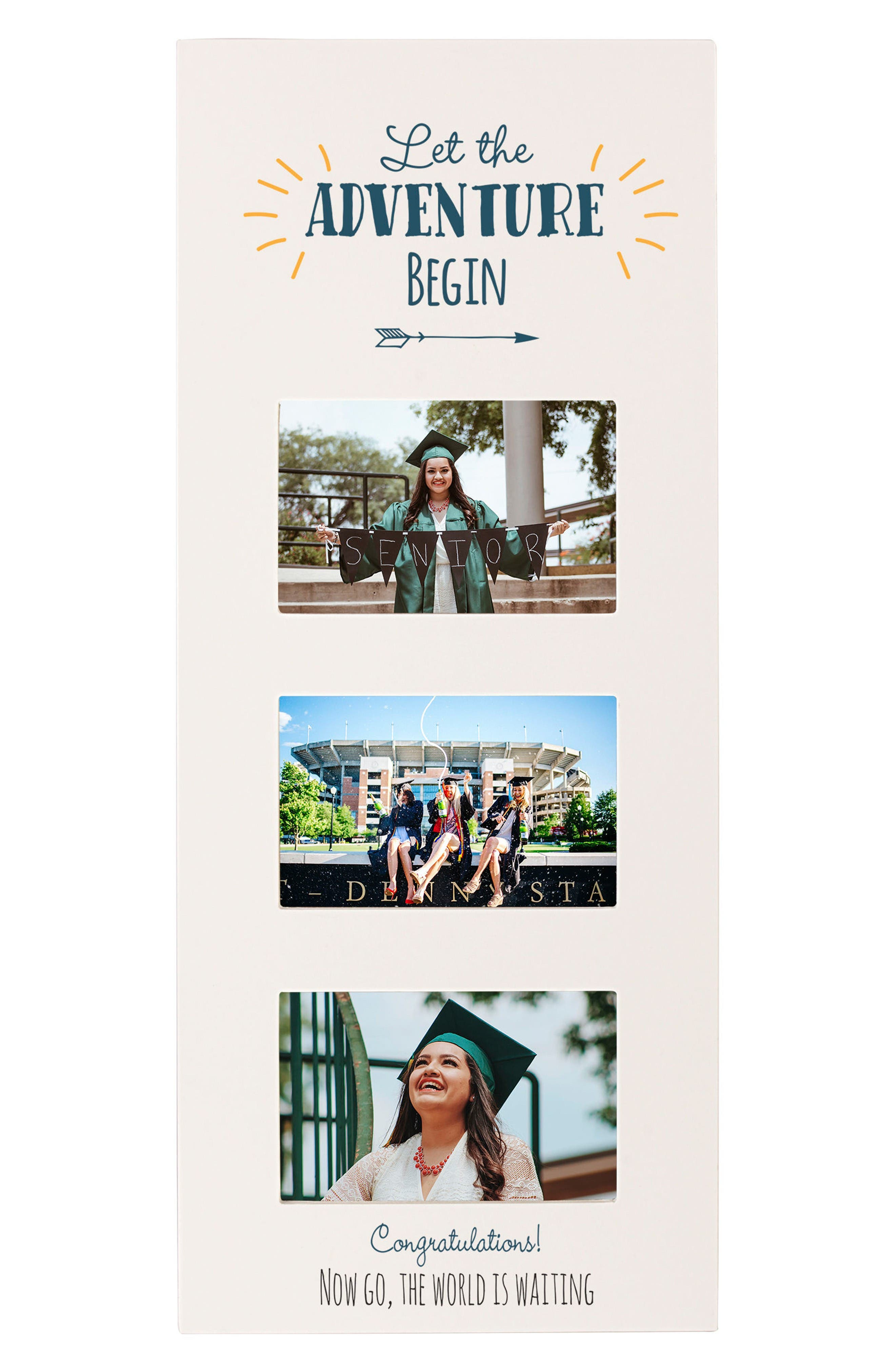 Graduation Picture Frame,                         Main,                         color, White