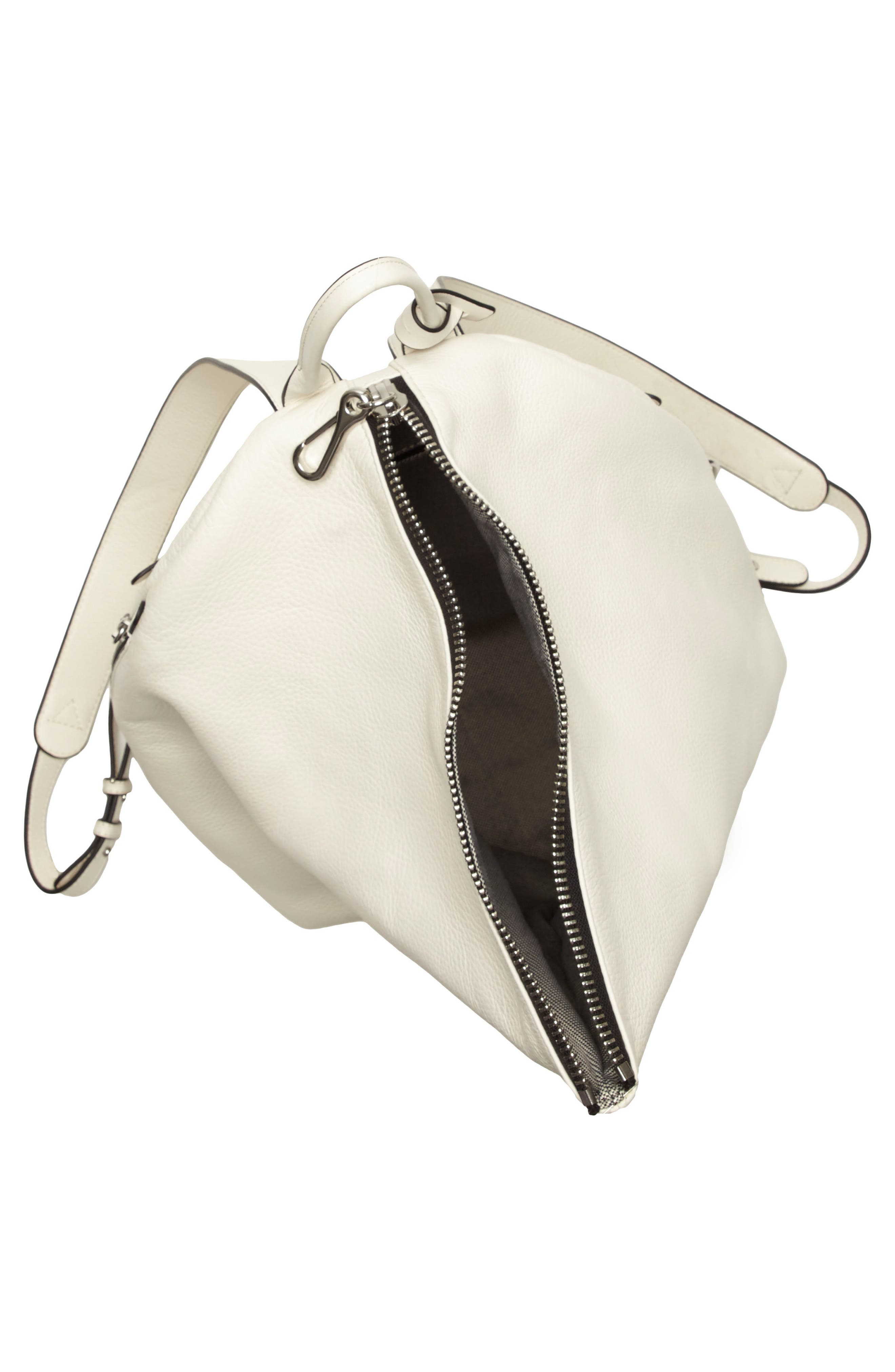 Alternate Image 3  - Vince Camuto Small Giani Leather Backpack