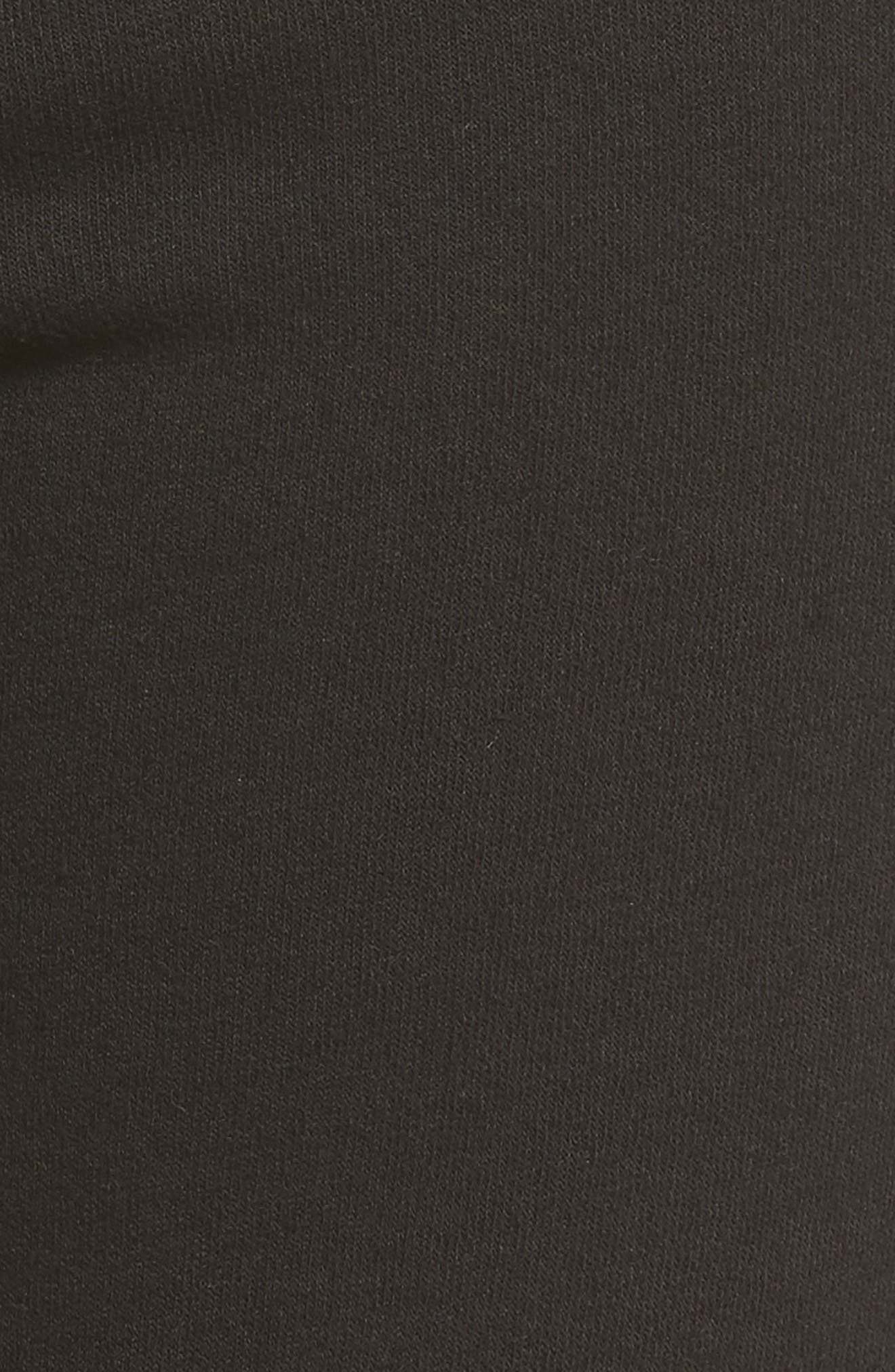 Betsee Distressed Jogger Pants,                             Alternate thumbnail 5, color,                             Black