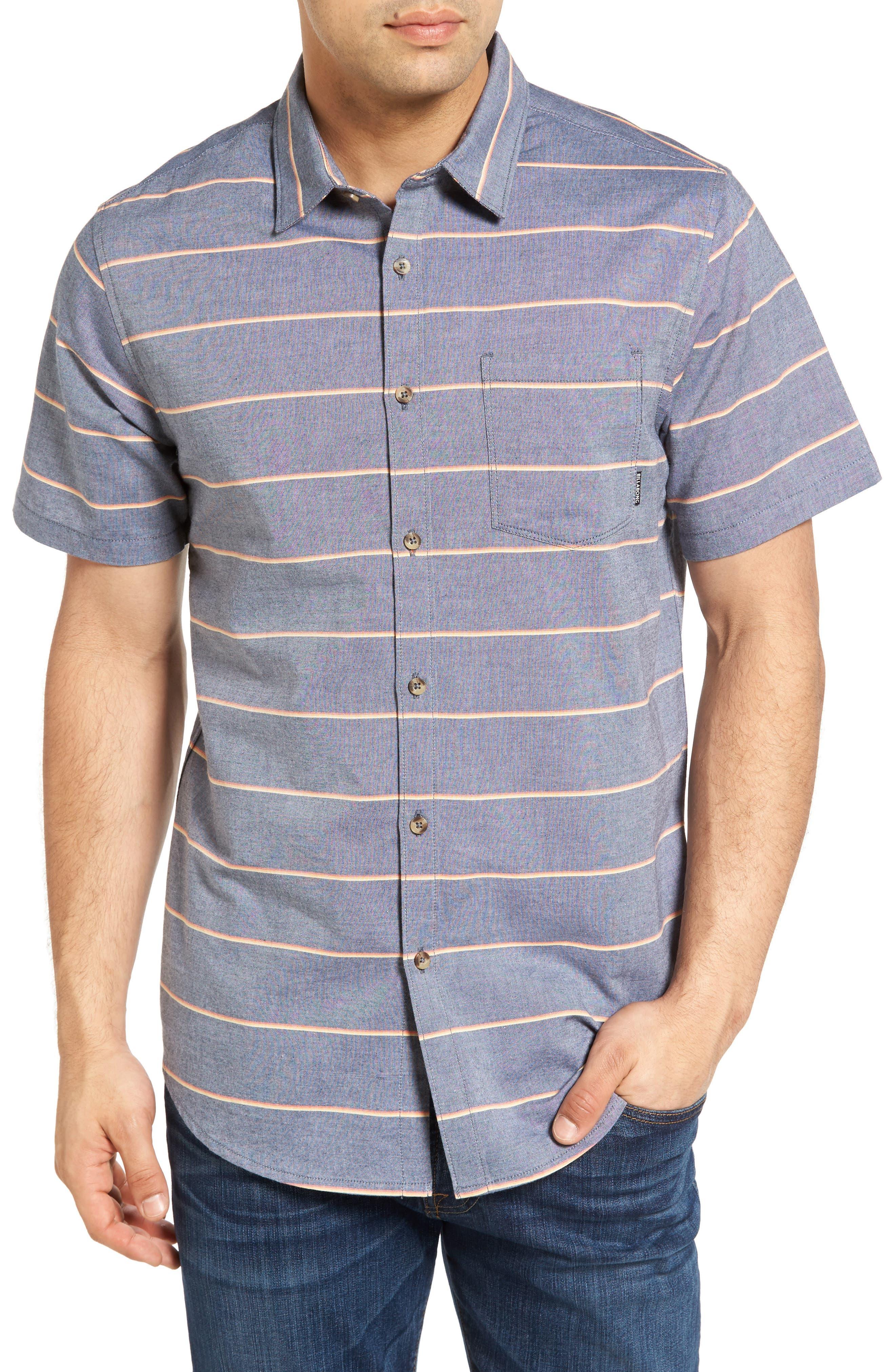 Billabong Flat Lines Stripe Woven Shirt