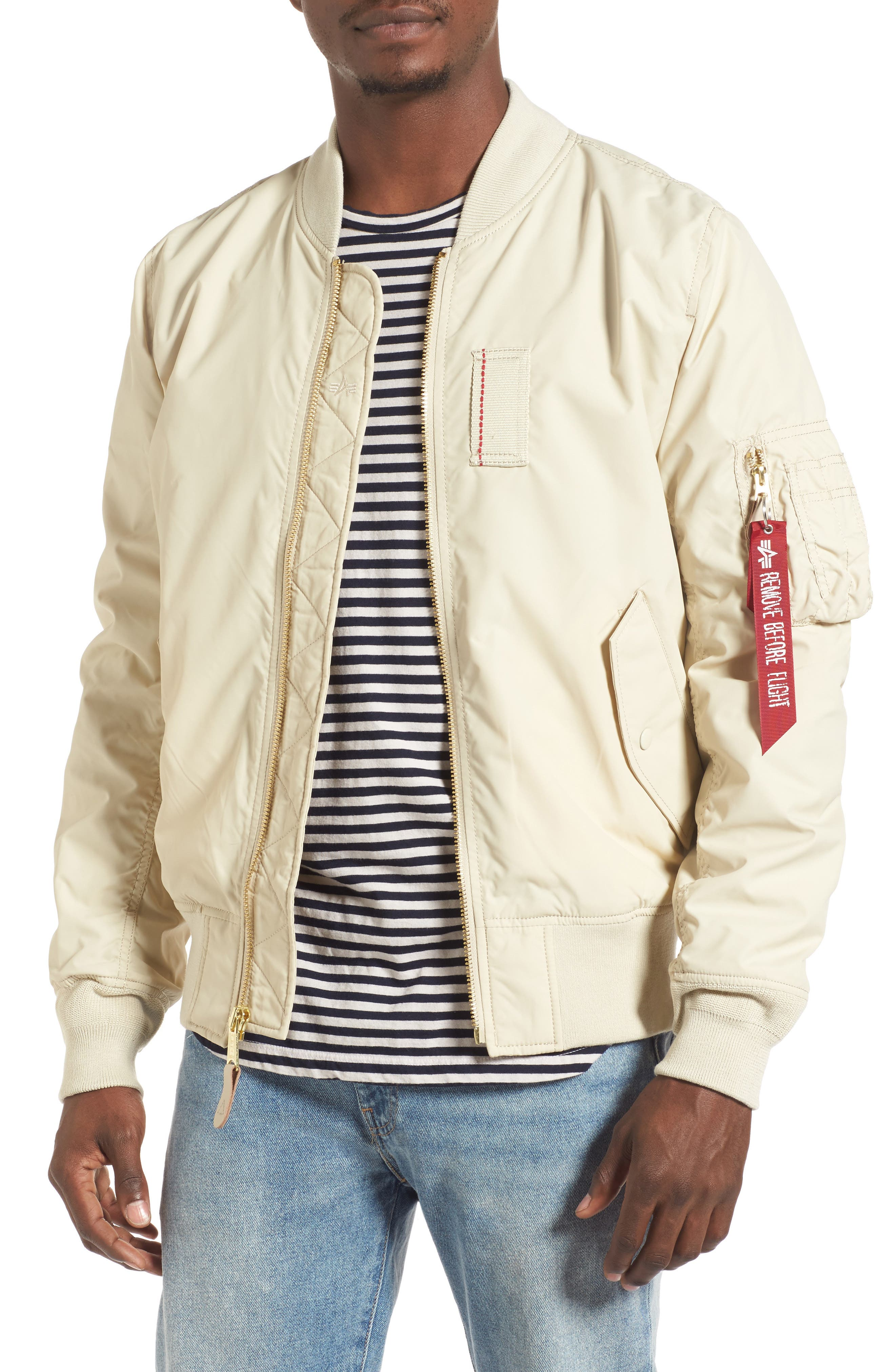 Main Image - Alpha Industries 'Skymaster' Lightweight MA-1 Bomber Jacket