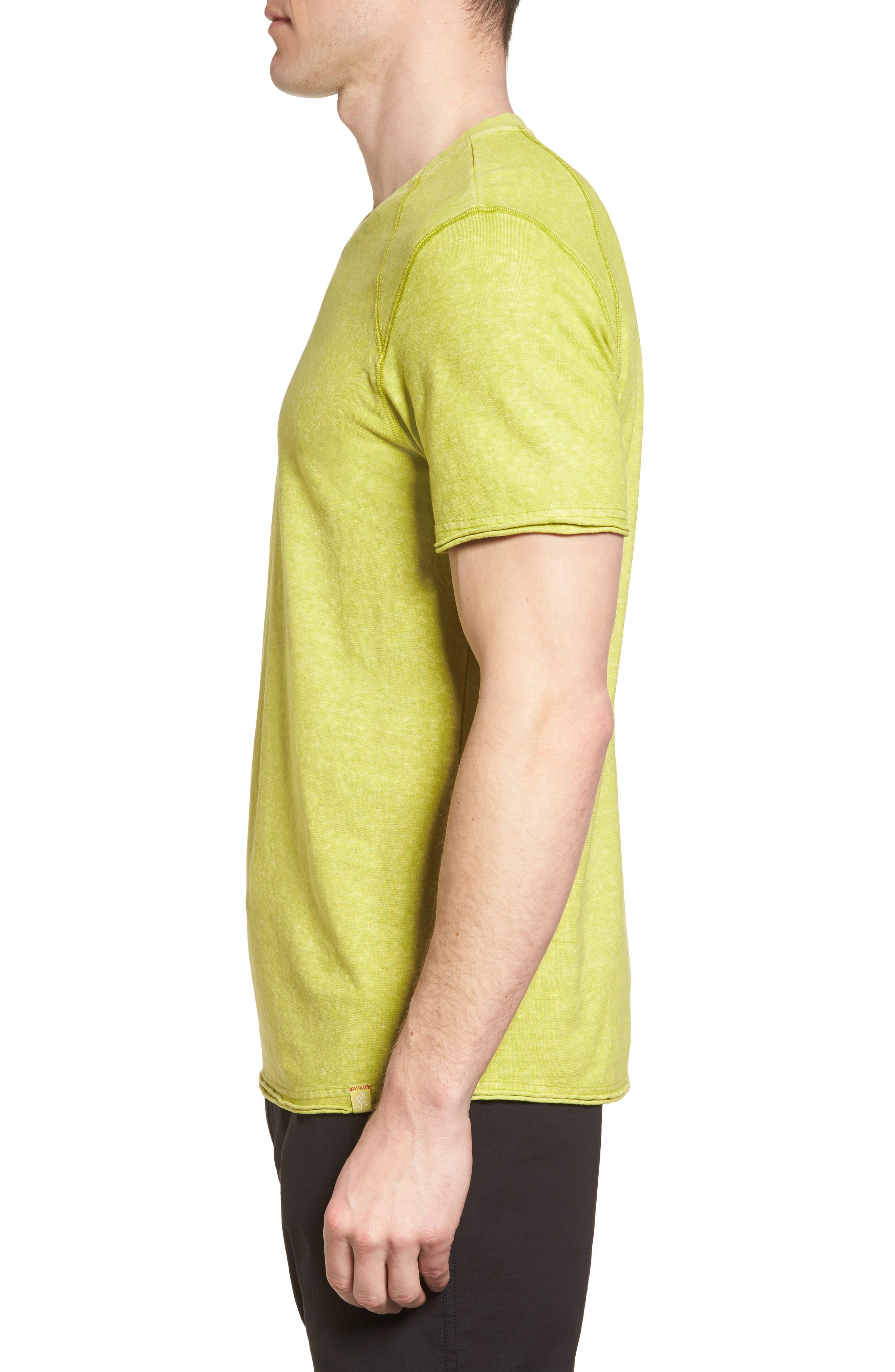 Camura T-Shirt,                             Alternate thumbnail 3, color,                             Olive Leaf