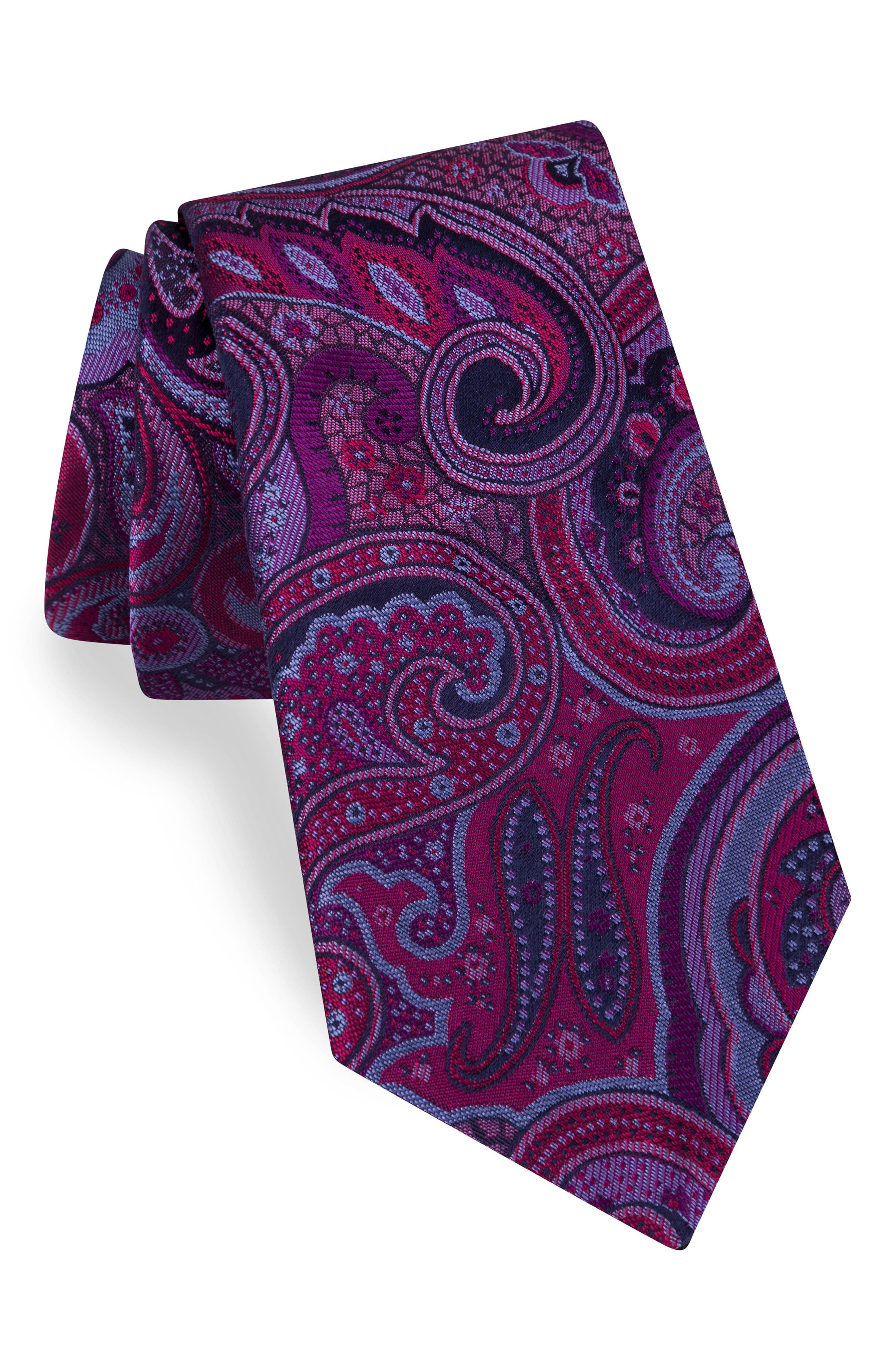 Alternate Image 1 Selected - Ted Baker London Paisley Silk Tie