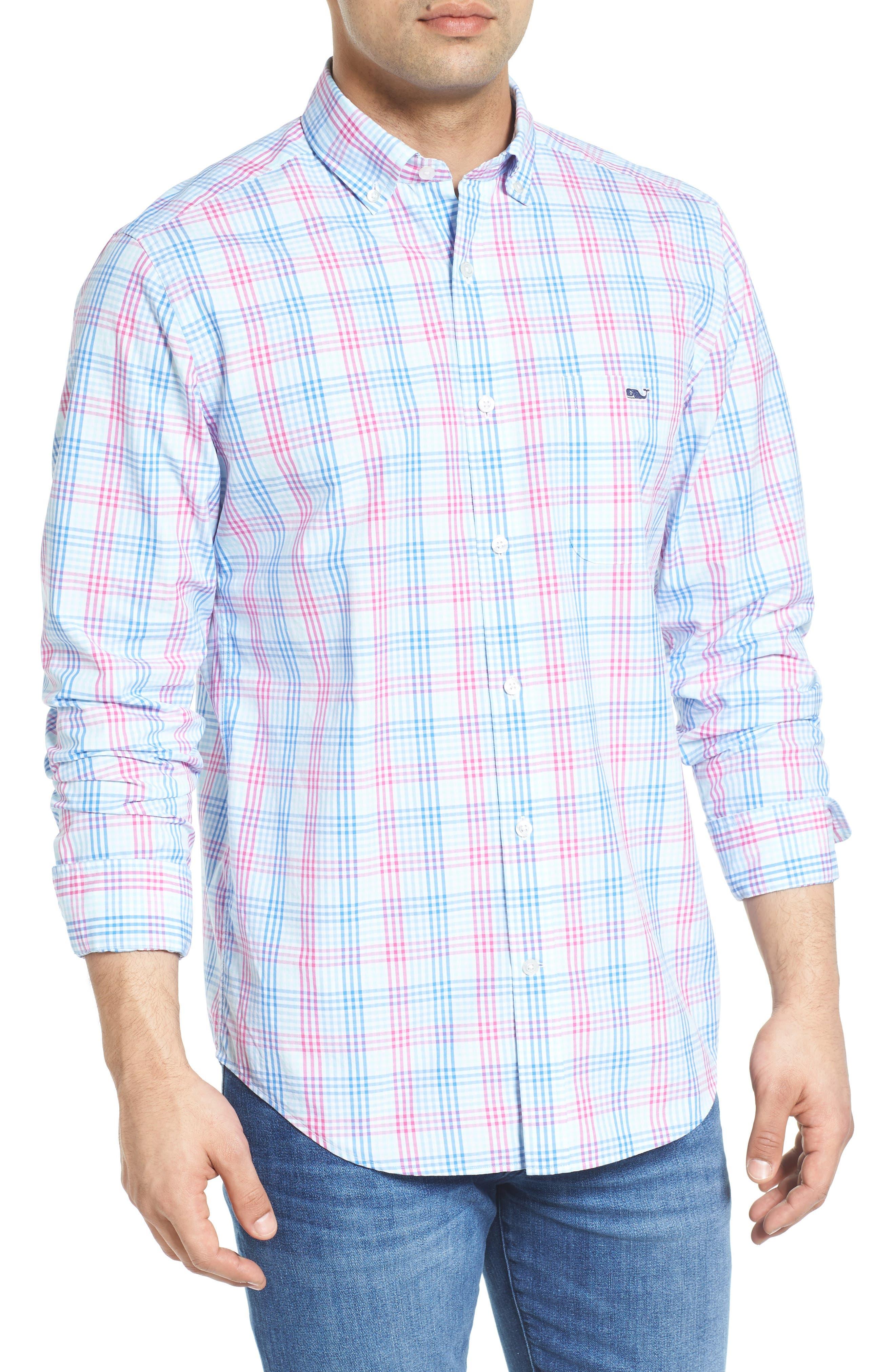 Vineyard Vines Lyndale Plaid Tucker Classic Fit Sport Shirt