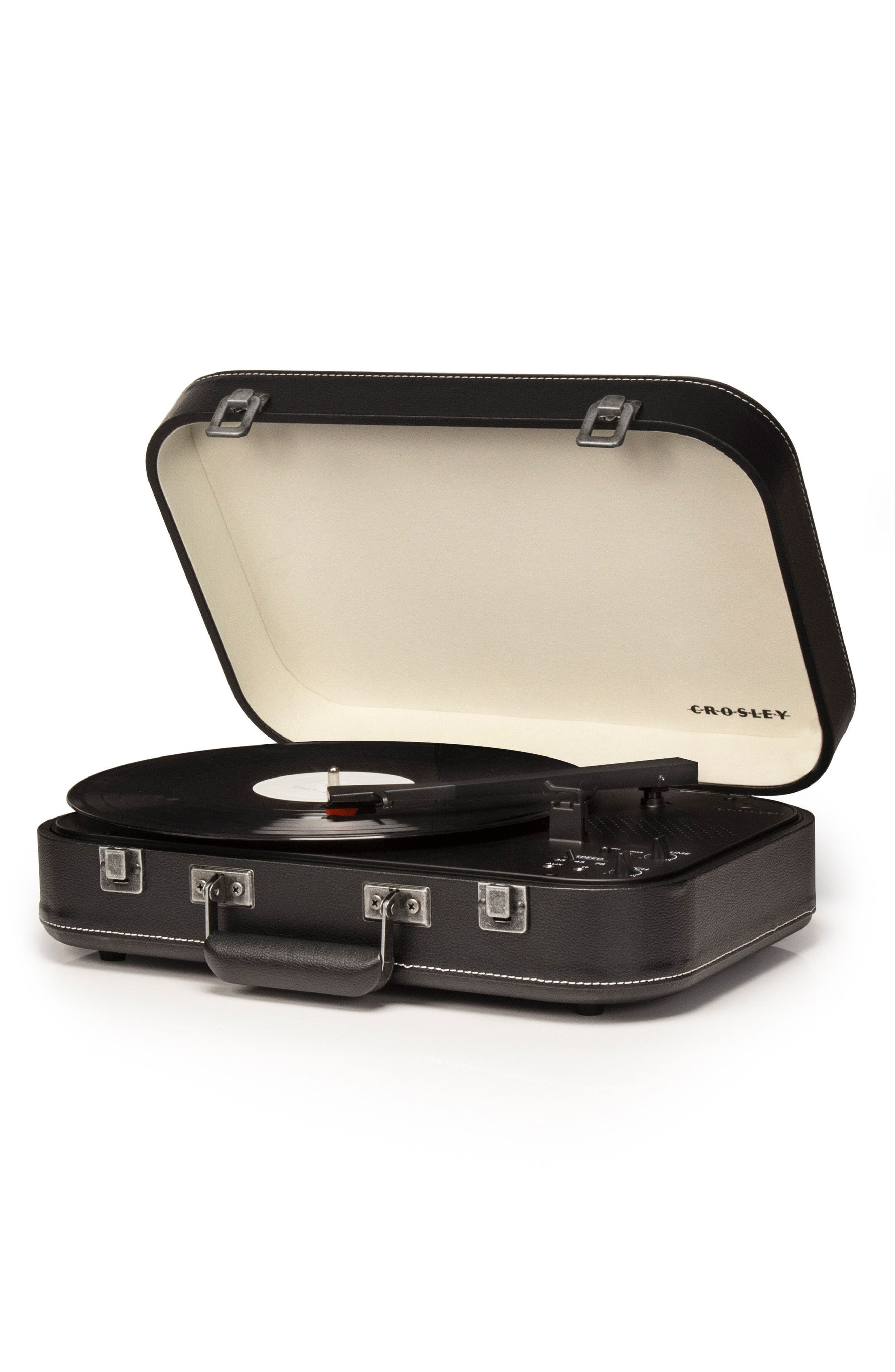 Coupe Turntable,                             Alternate thumbnail 2, color,                             Black