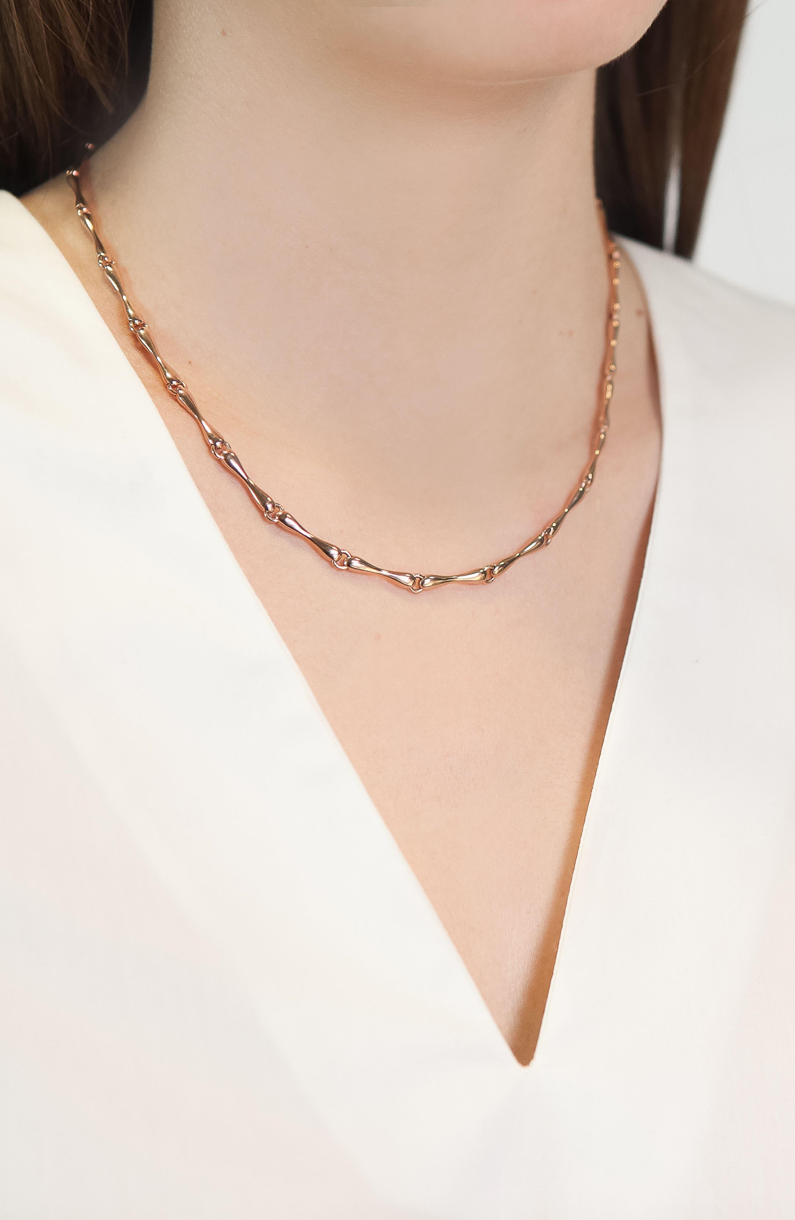Alternate Image 3  - Monica Vinader Nura Reef Chain Necklace