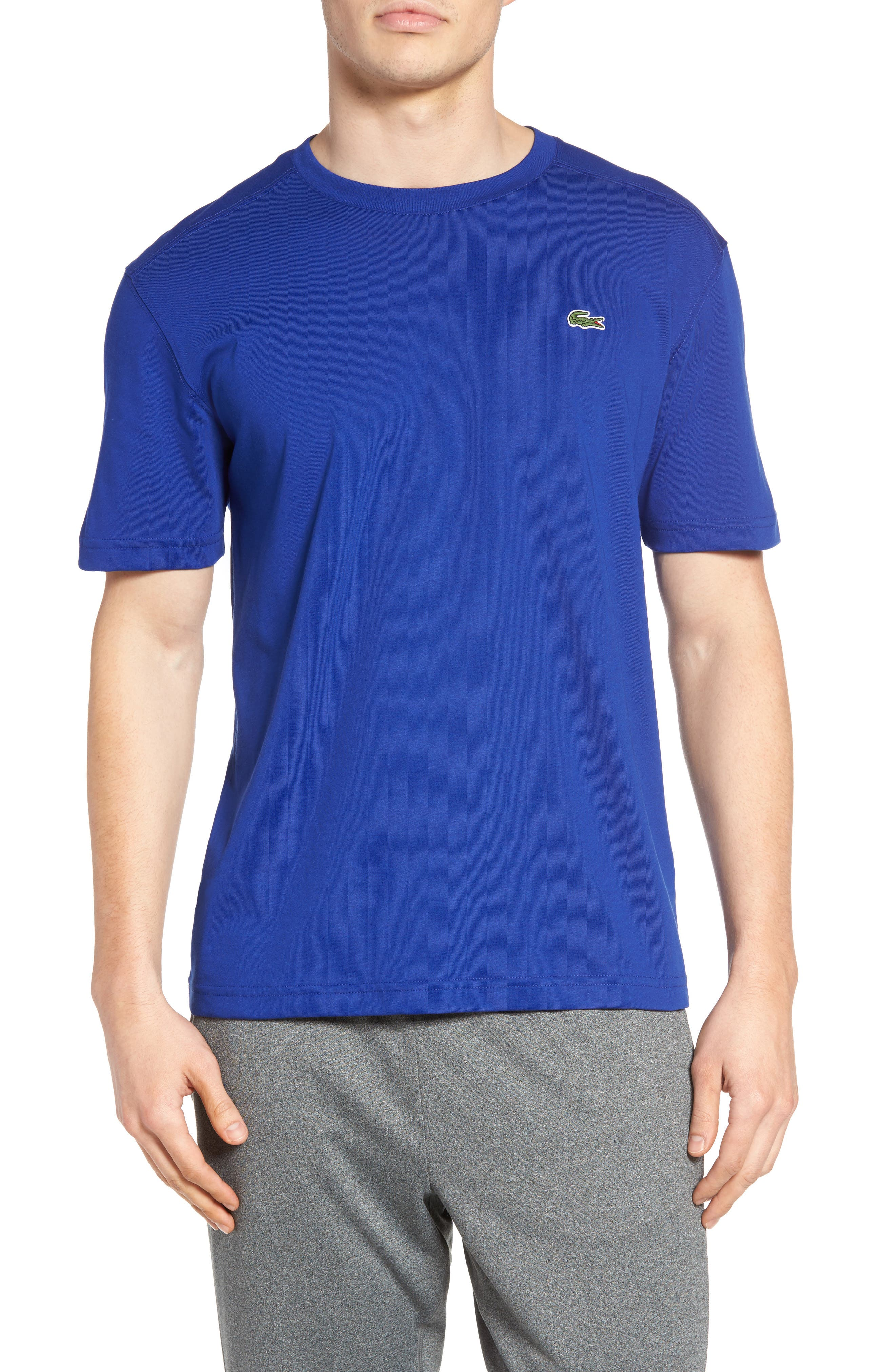 Alternate Image 1 Selected - Lacoste'Sport' Cotton Jersey T-Shirt