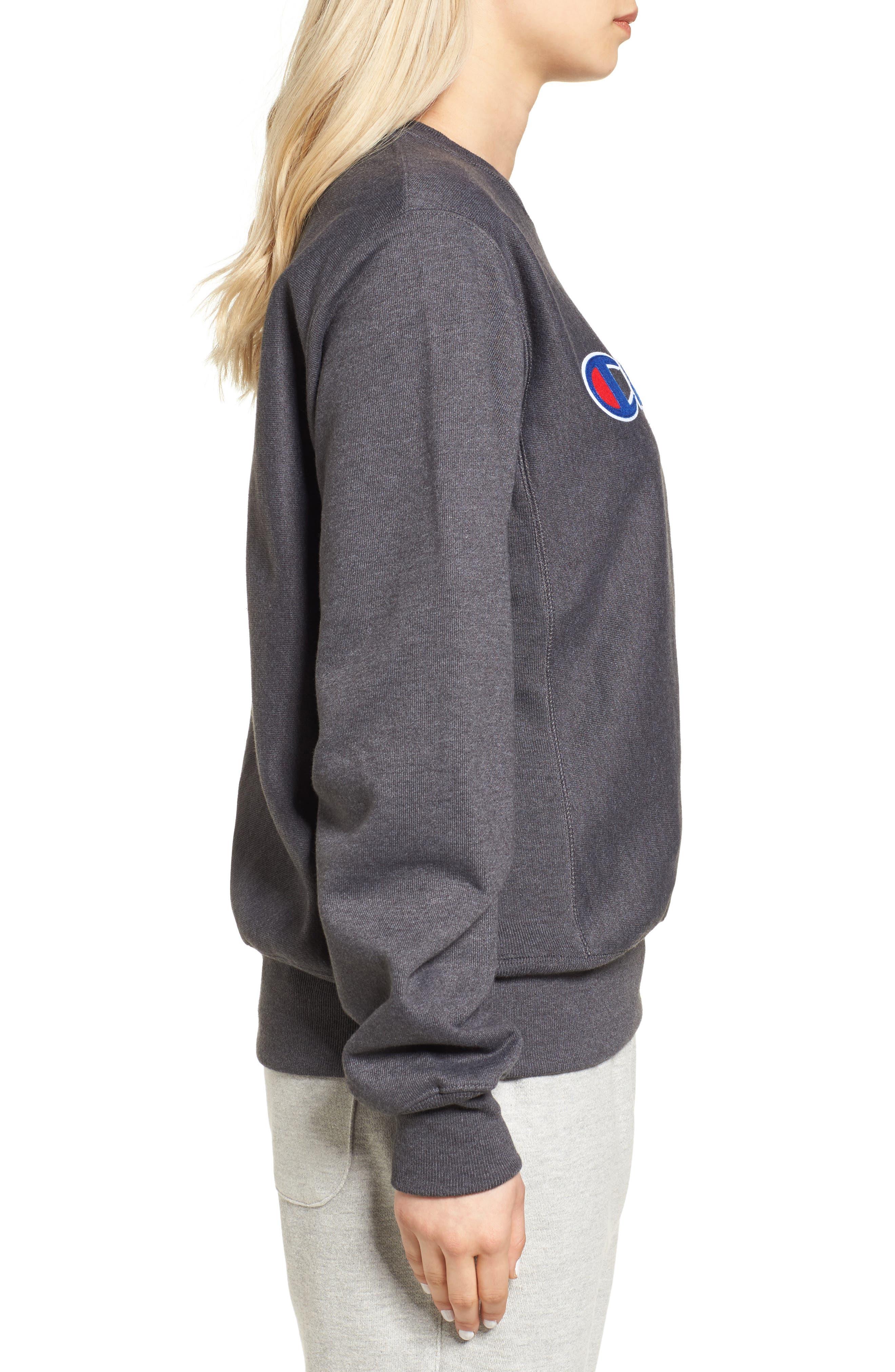 Alternate Image 3  - Champion Crewneck Sweatshirt