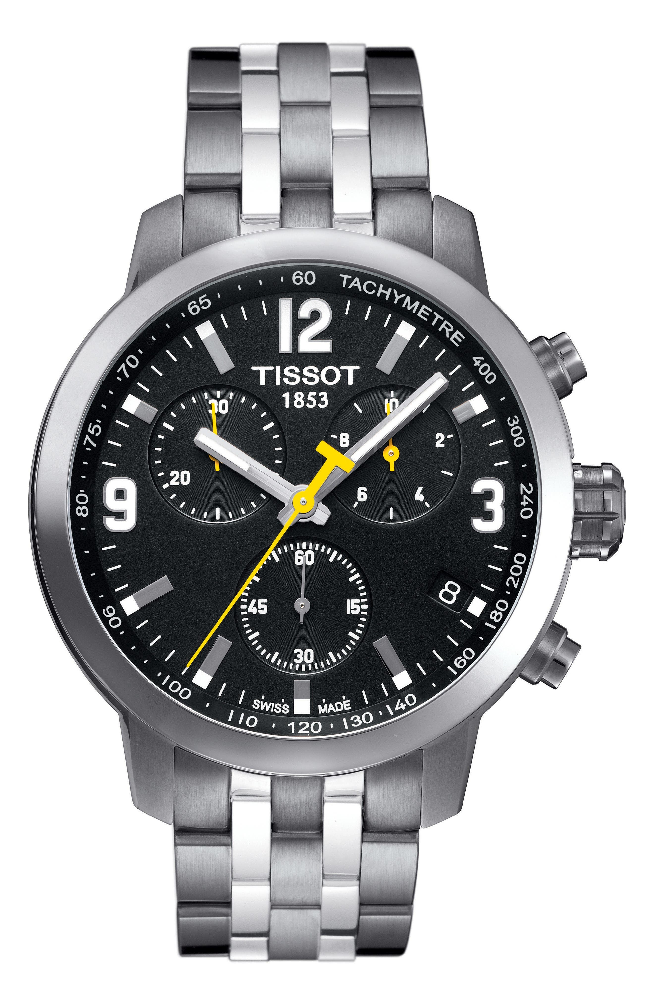 Main Image - Tissot PRC200 Chronograph Bracelet Watch, 42mm