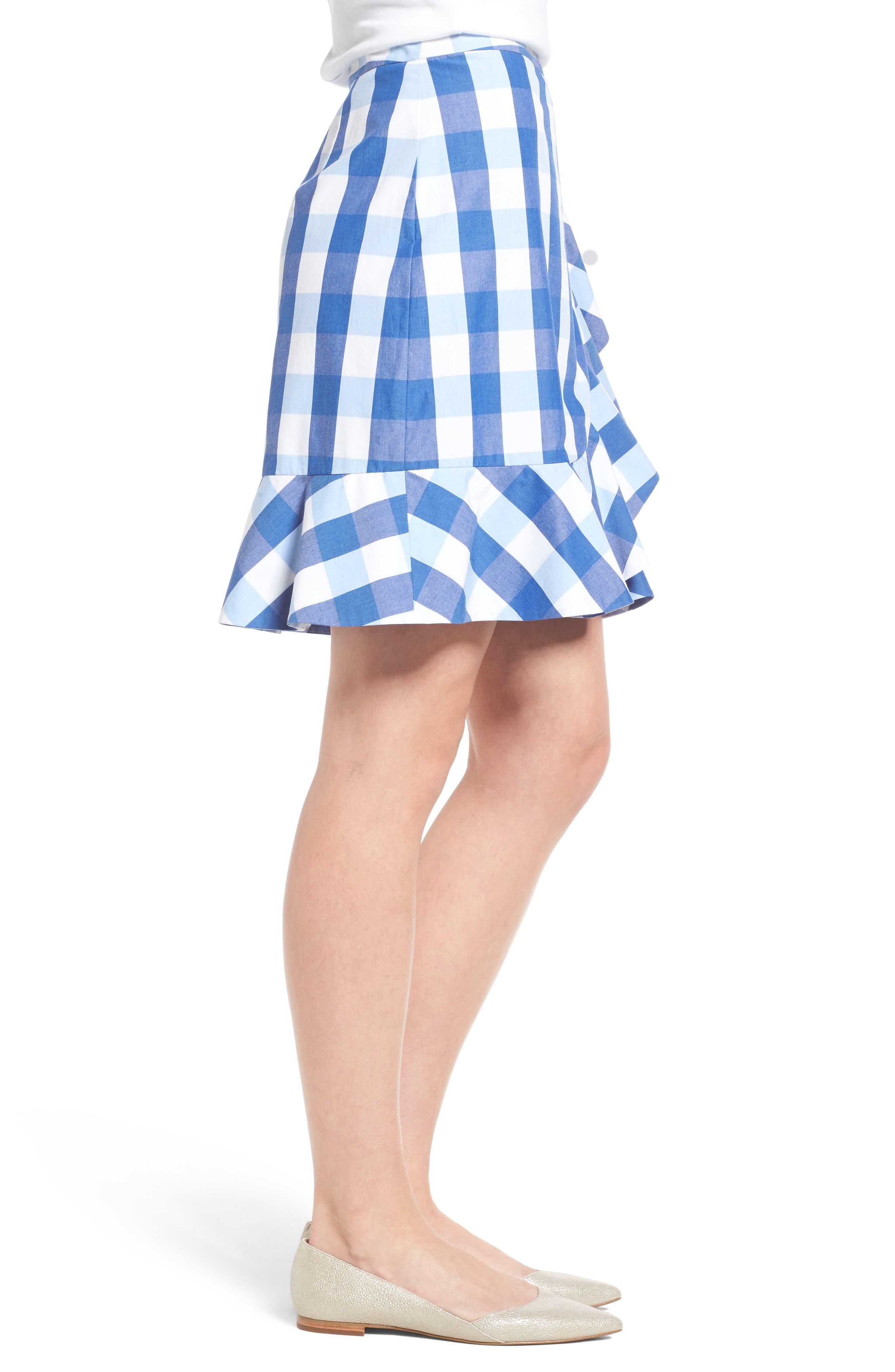 Alternate Image 3  - Draper James Check Miniskirt