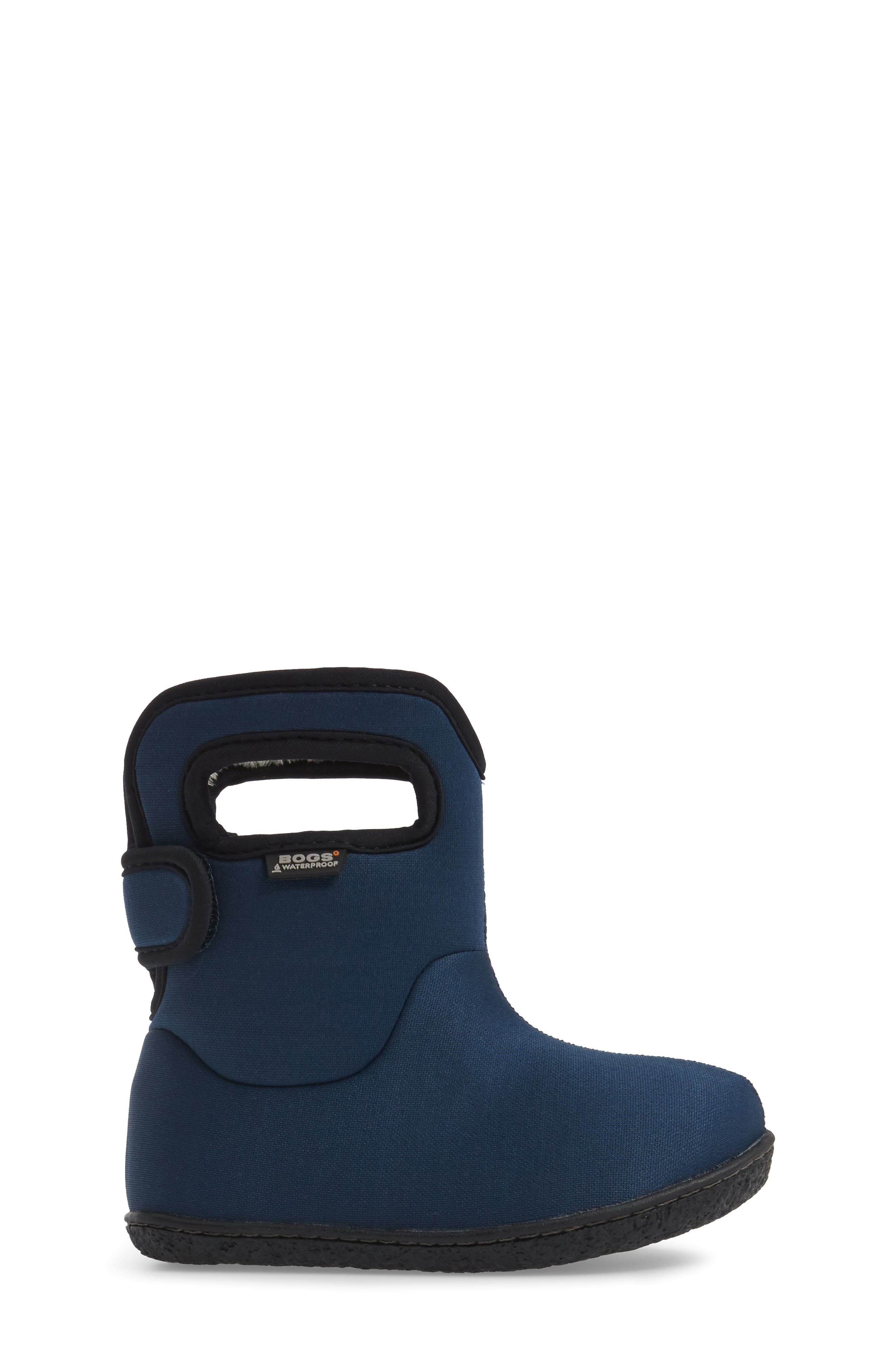 Alternate Image 3  - Bogs Classic Solid Insulated Waterproof Rain Boot (Baby, Walker & Toddler)