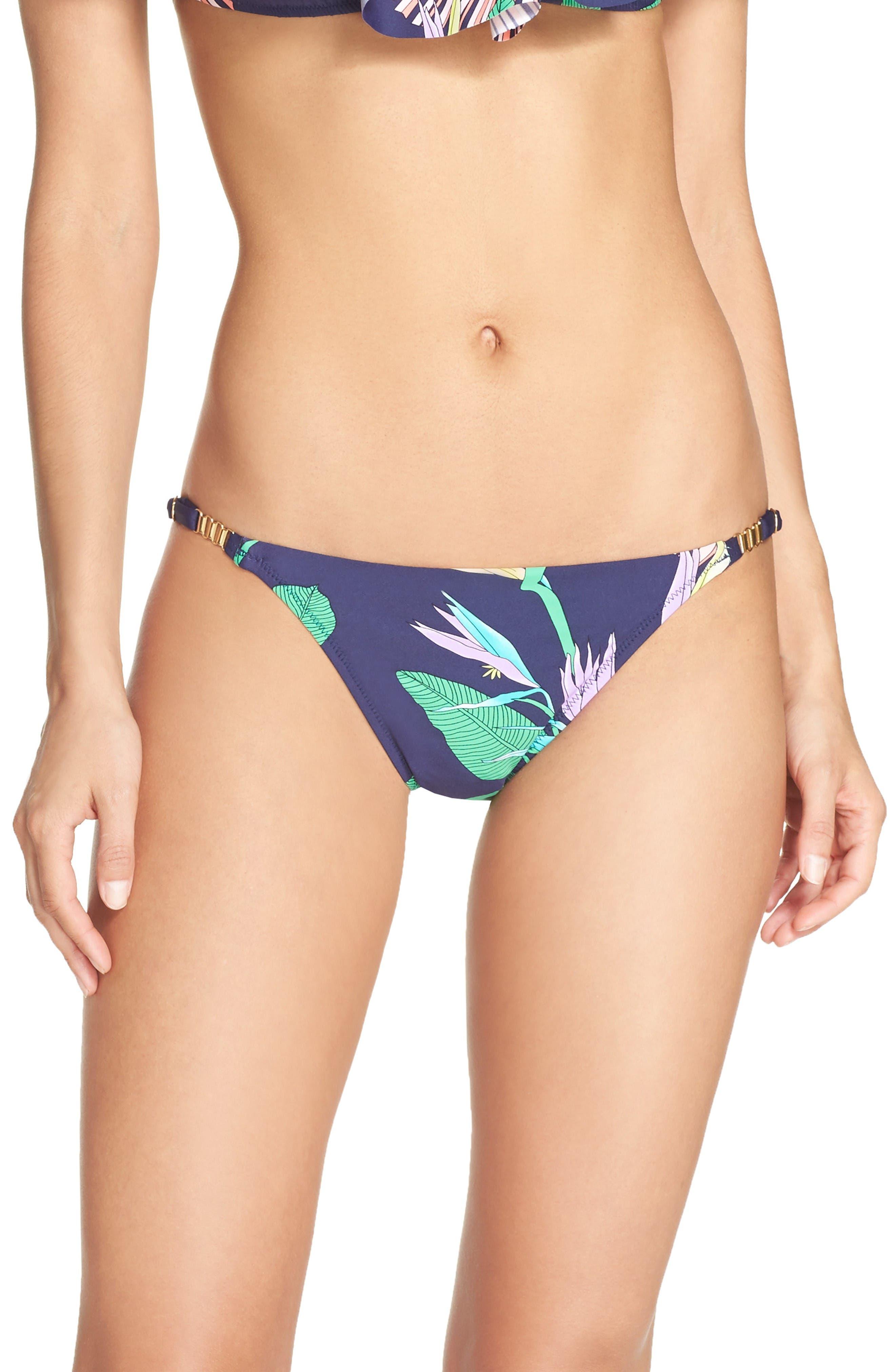 Trina Turk Midnight Bikini Bottoms