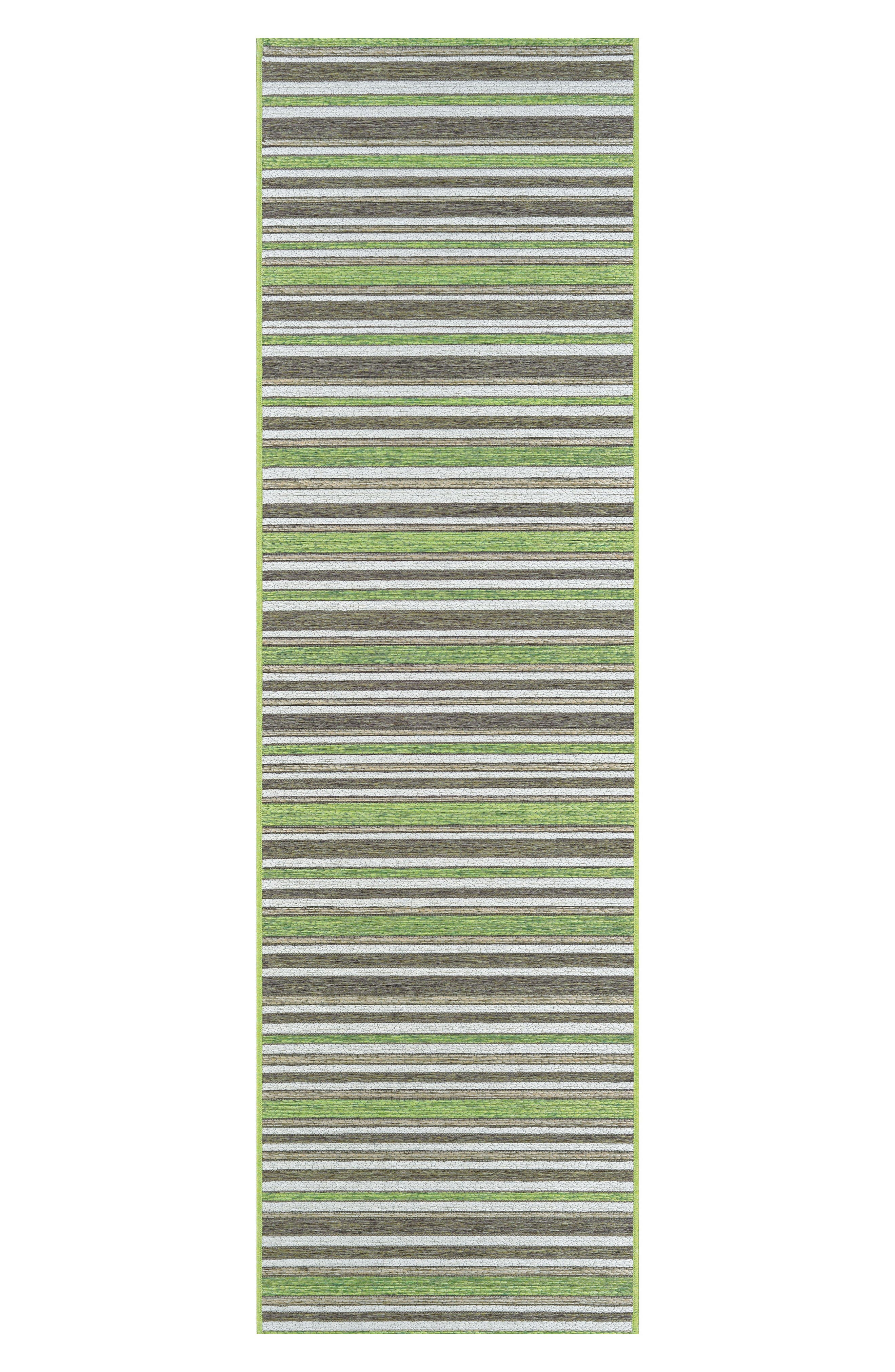 Brockton Indoor/Outdoor Rug,                             Alternate thumbnail 2, color,                             Hunter Green/ Brown