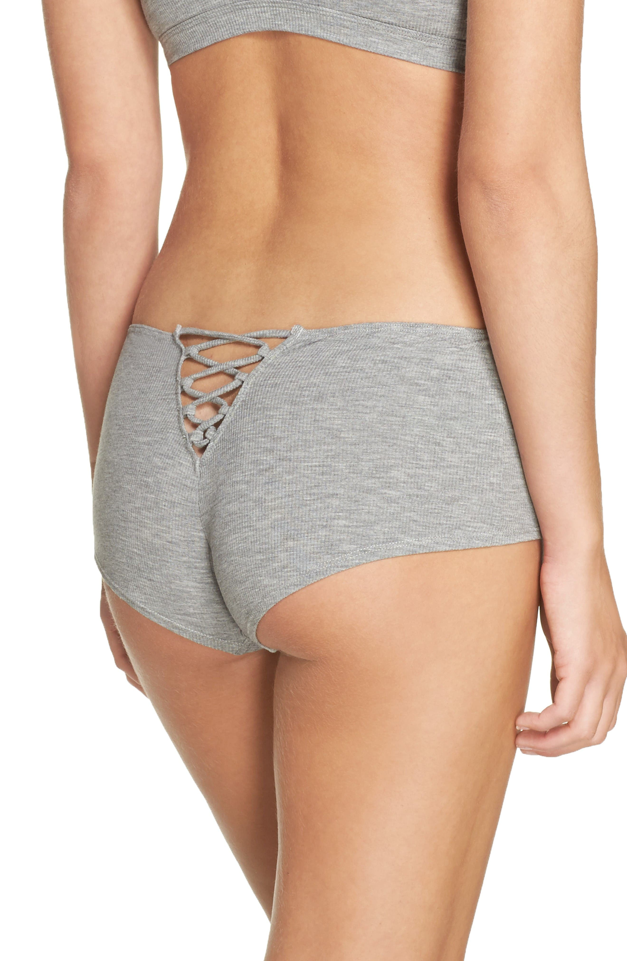 Honeydew Intimates Tie Back Hipster Panties
