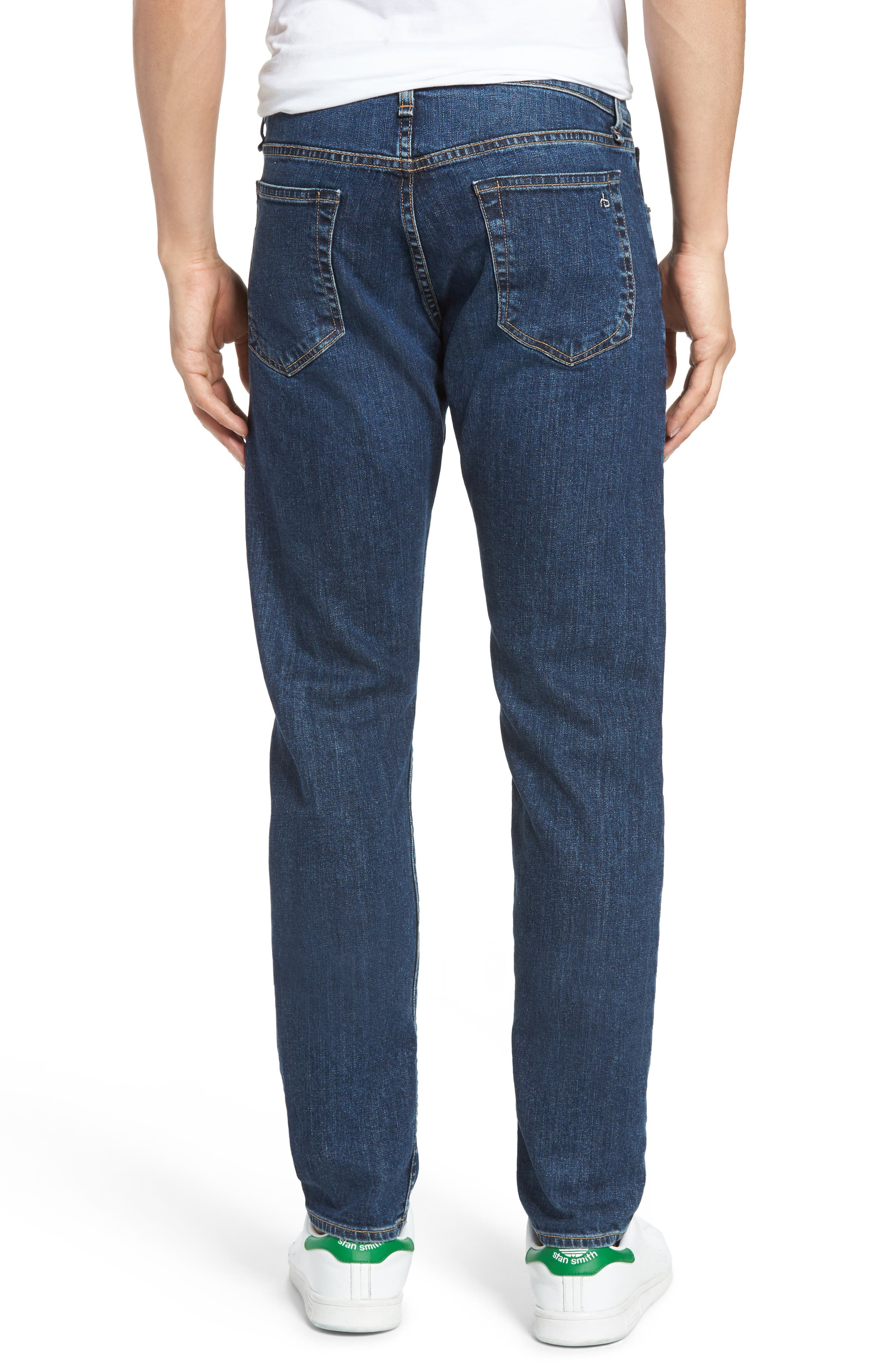 Fit 2 Slim Fit Jeans,                             Alternate thumbnail 2, color,                             Dukes