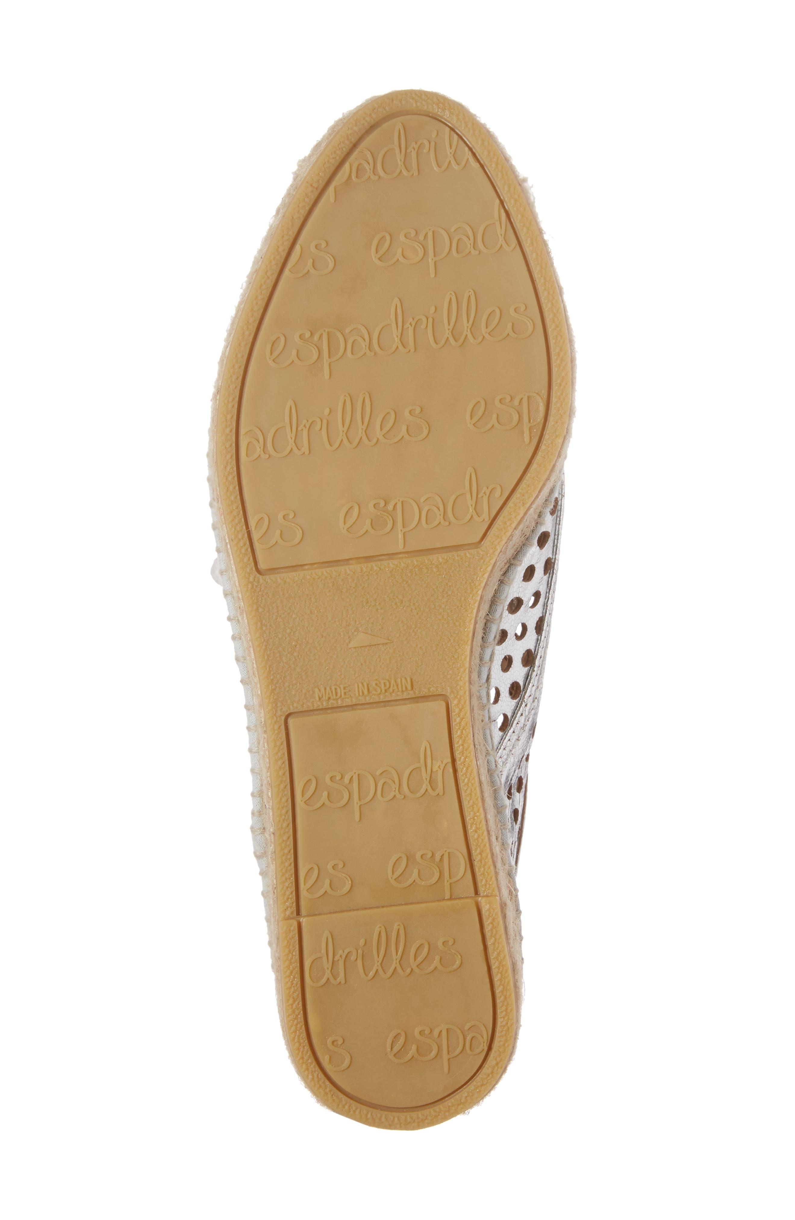 Alternate Image 5  - Loeffler Randall Alfie Espadrille Sneaker (Women)
