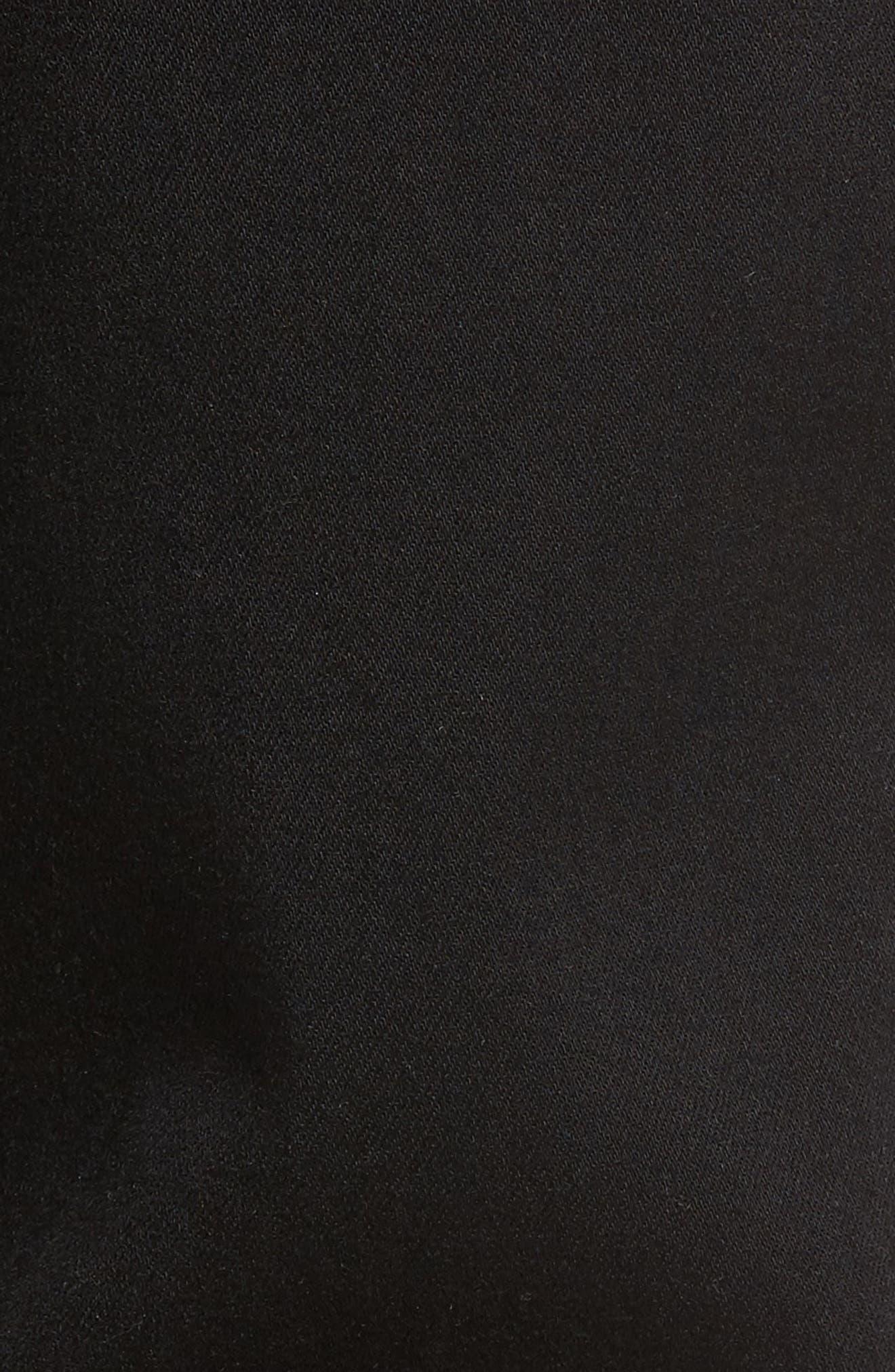 Federal Slim Straight Leg Jeans,                             Alternate thumbnail 6, color,                             Black Shadow