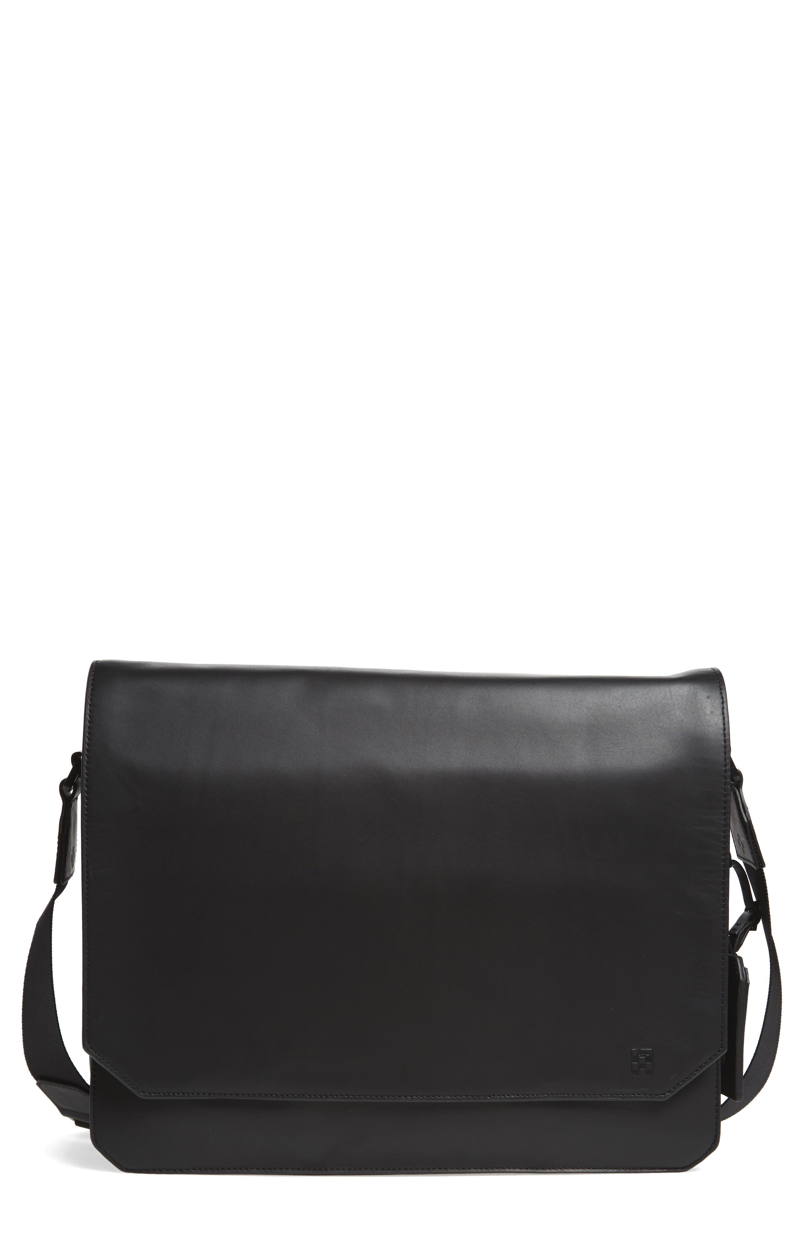Vince Camuto 'Tolve' Leather Messenger Bag