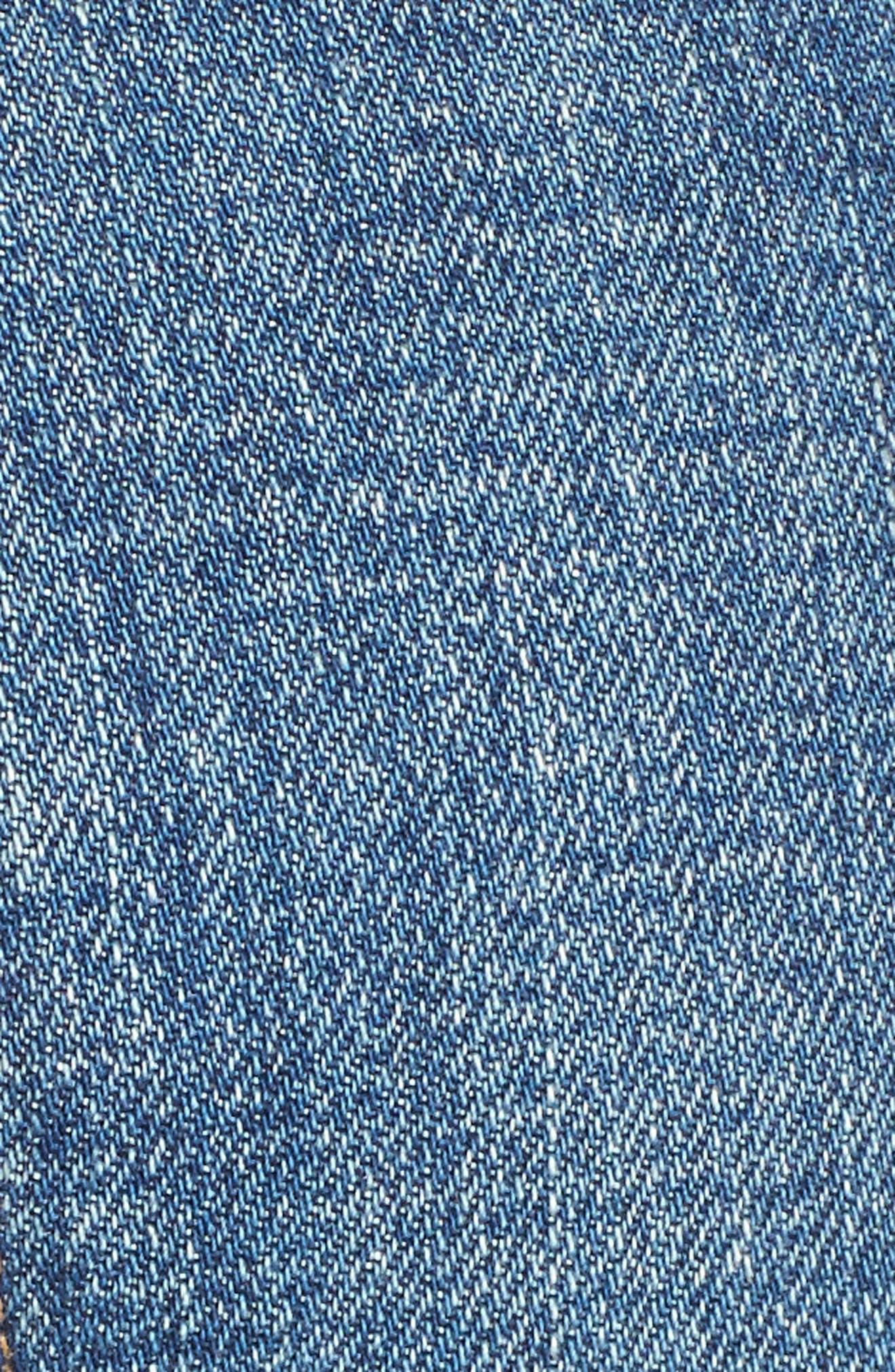 Alyx High Waist Cutoff Denim Shorts,                             Alternate thumbnail 5, color,                             Teaser