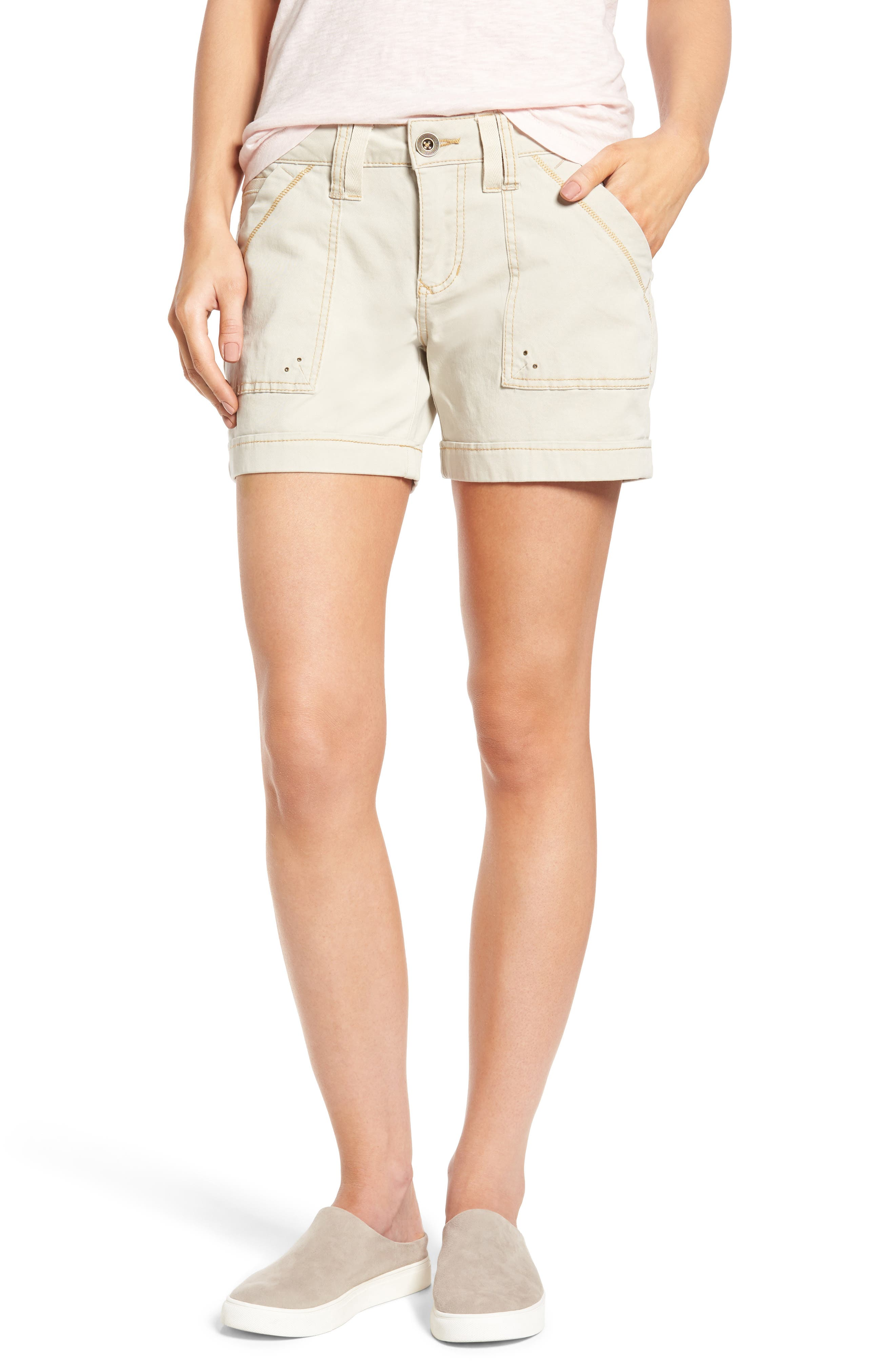 Main Image - Jag Jeans Izzy Twill Utility Shorts