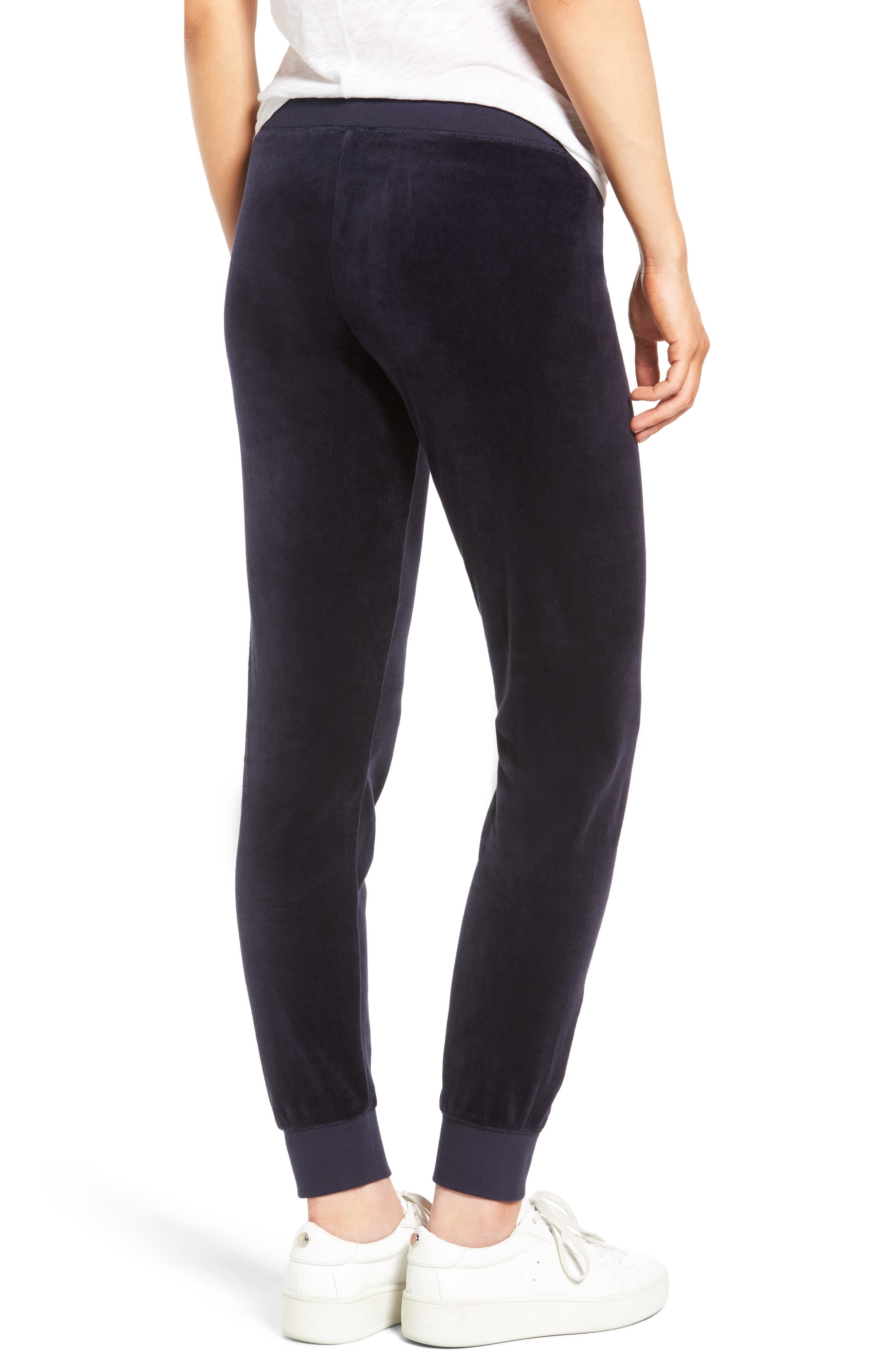 Alternate Image 2  - Juicy Couture Pretty Thing Zuma Velour Track Pants