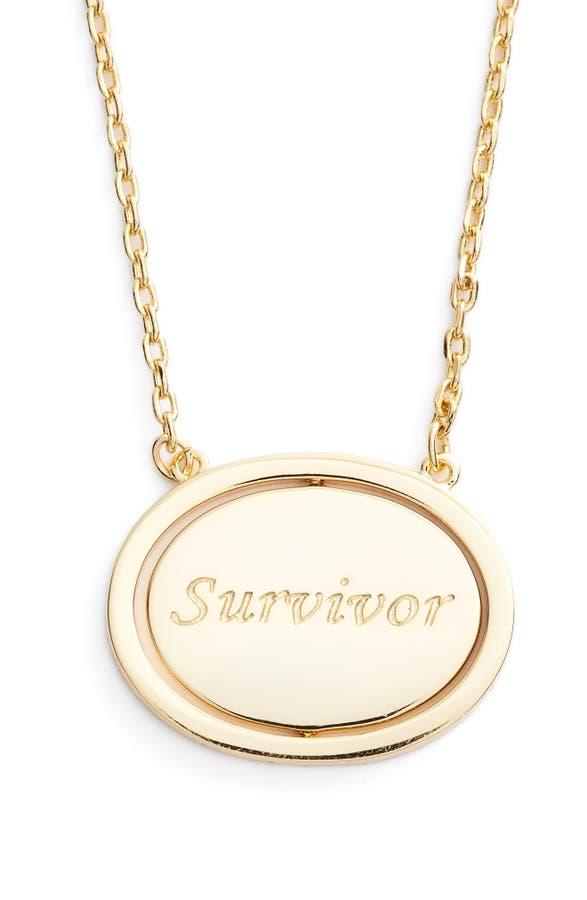 Lulu dk survivor spinning pendant necklace nordstrom main image lulu dk survivor spinning pendant necklace mozeypictures Images