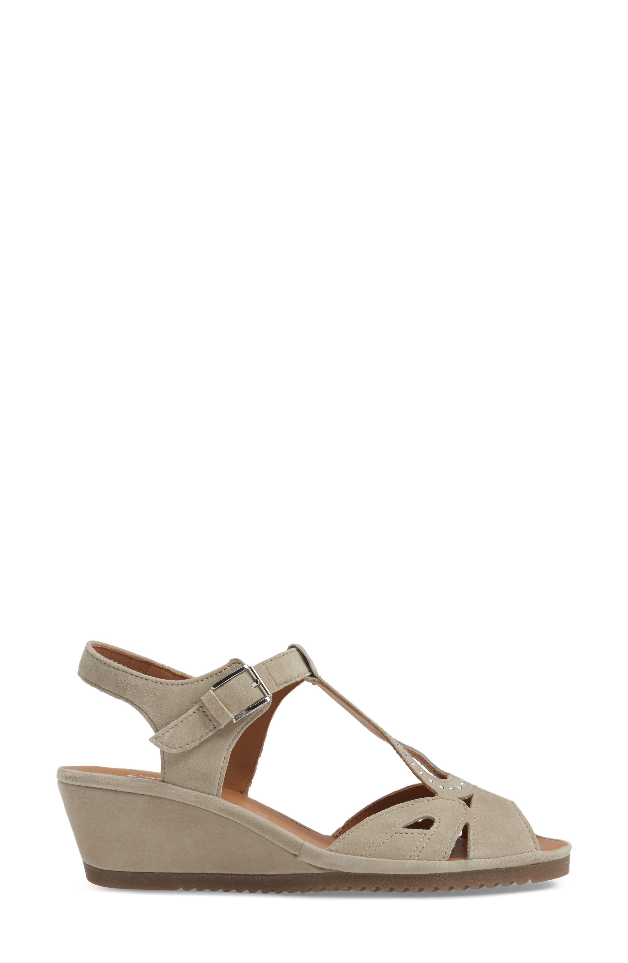 Alternate Image 3  - ara Wedge Sandal (Women)