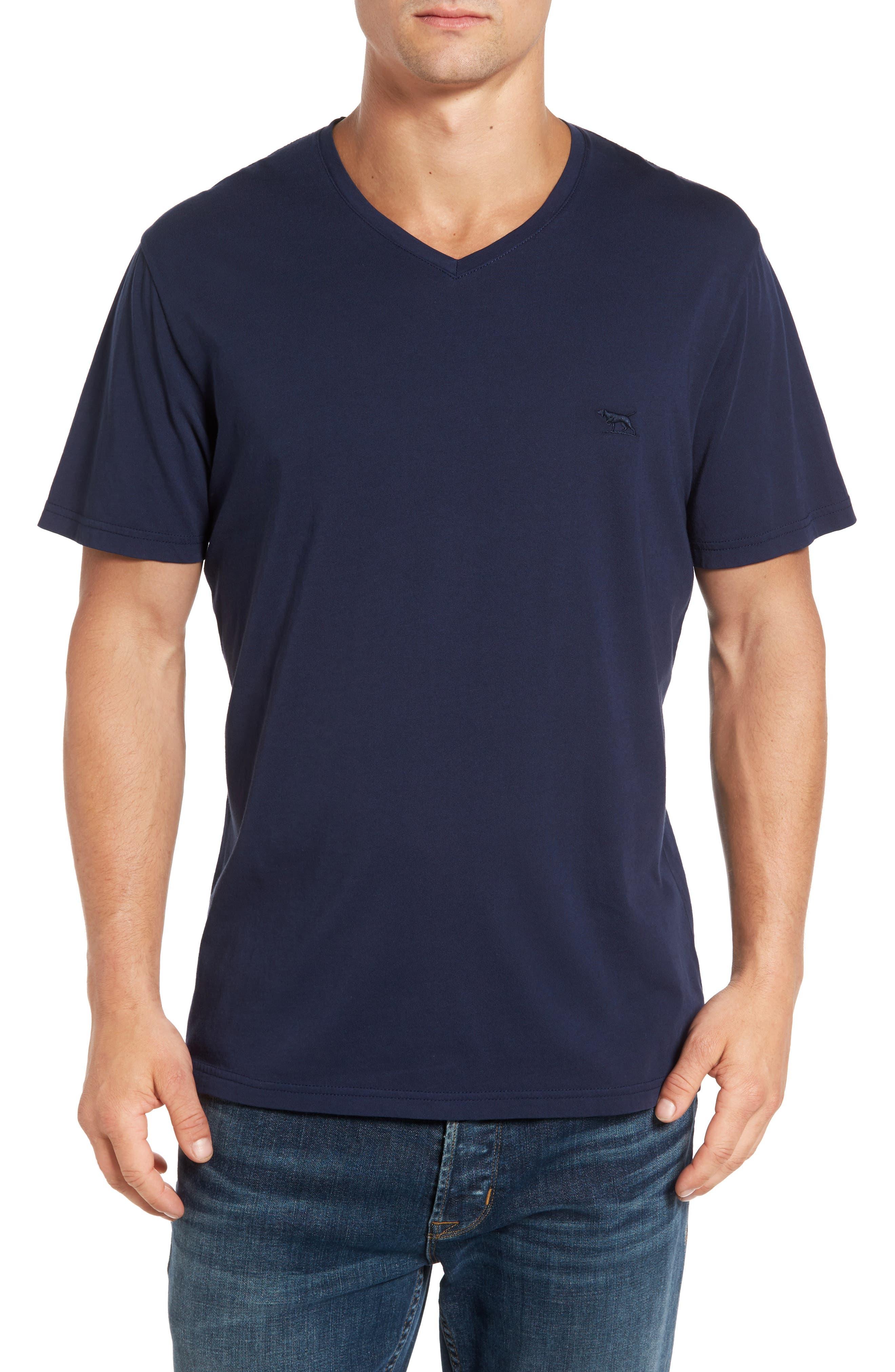 RODD & GUNN Solway Sports Fit V-Neck T-Shirt