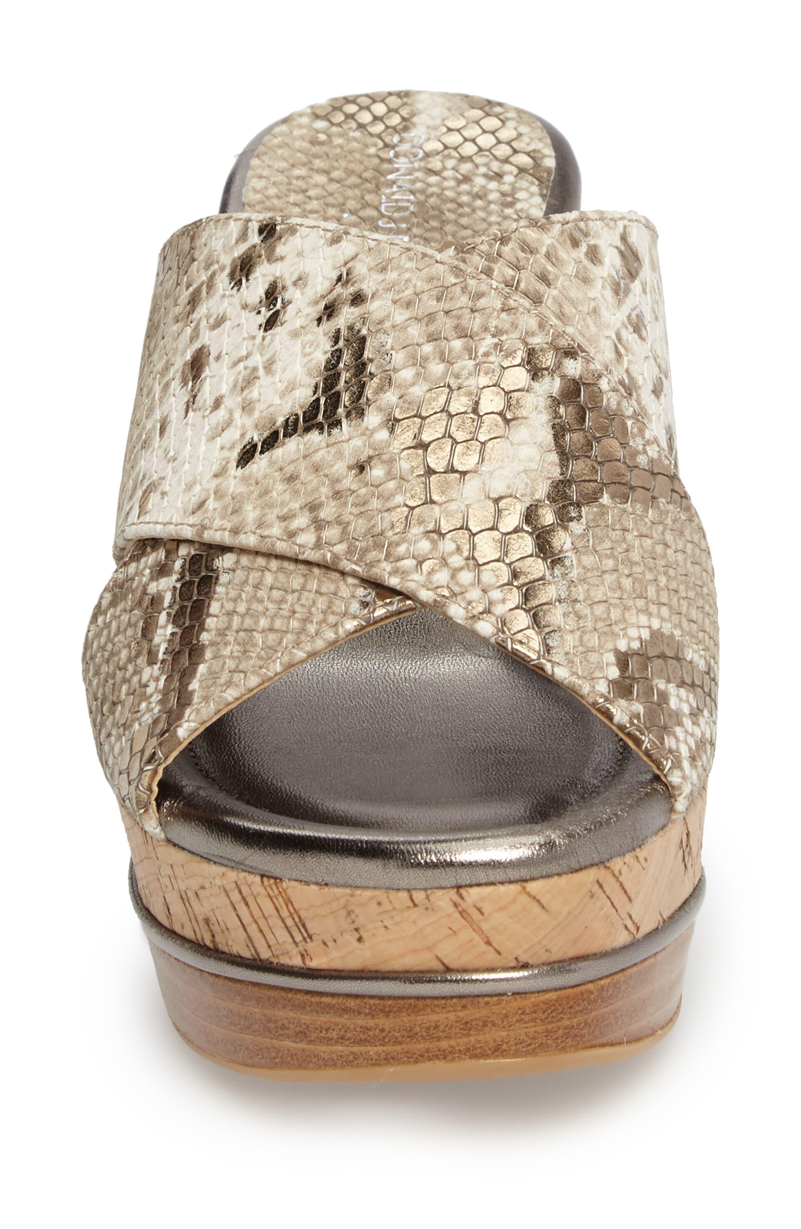 Alternate Image 4  - Donald J Pliner 'Dani' Crisscross Wedge Sandal (Women)